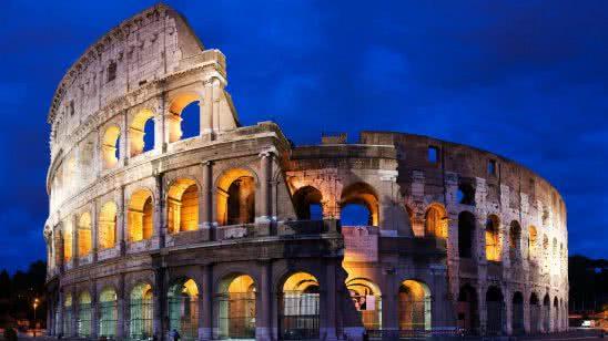 roman colosseum rome italy wqhd 1440p wallpaper