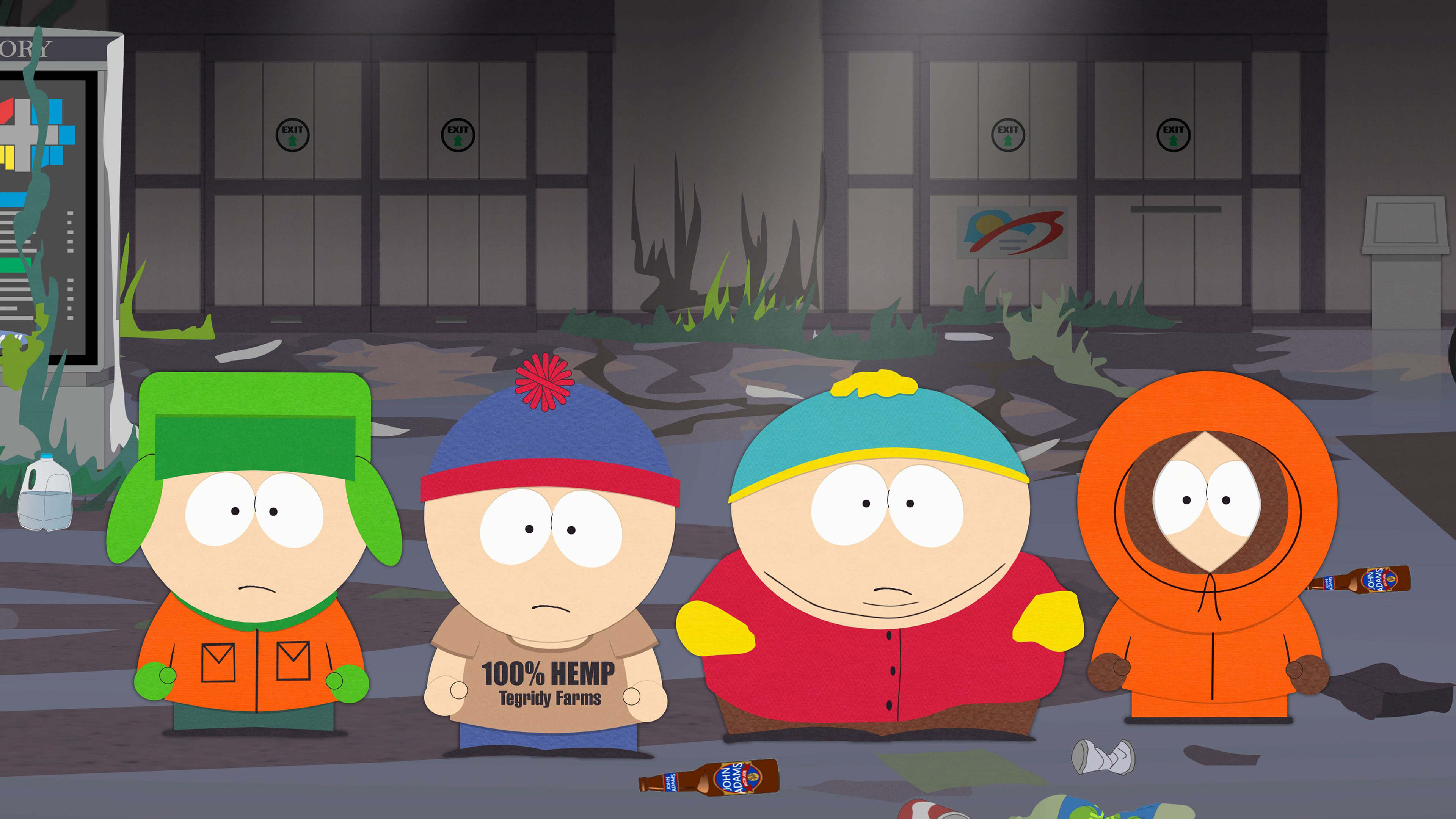 south park kyle stan cartman kenny uhd 4k wallpaper