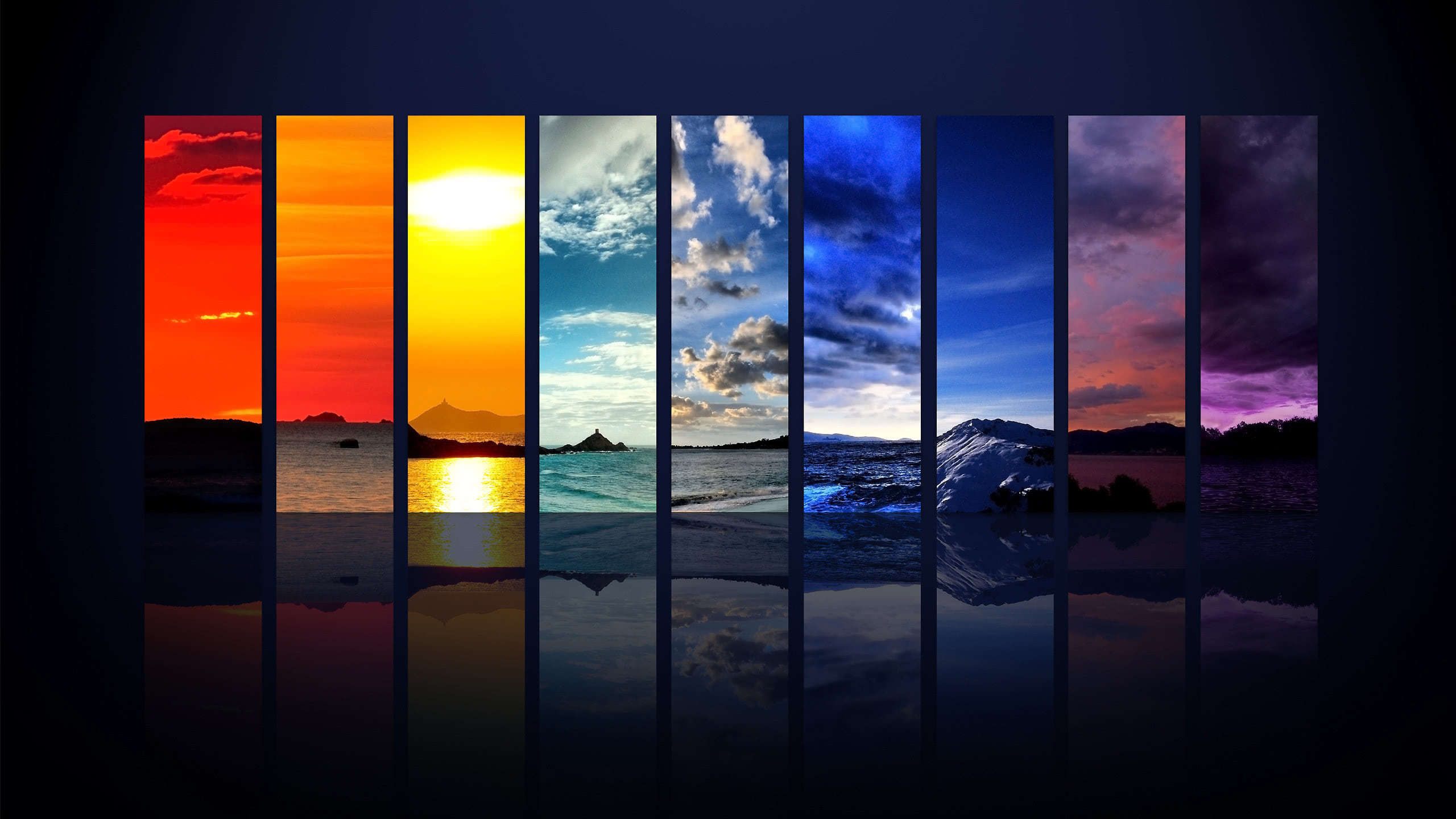 spectrum of the sky wqhd 1440p wallpaper