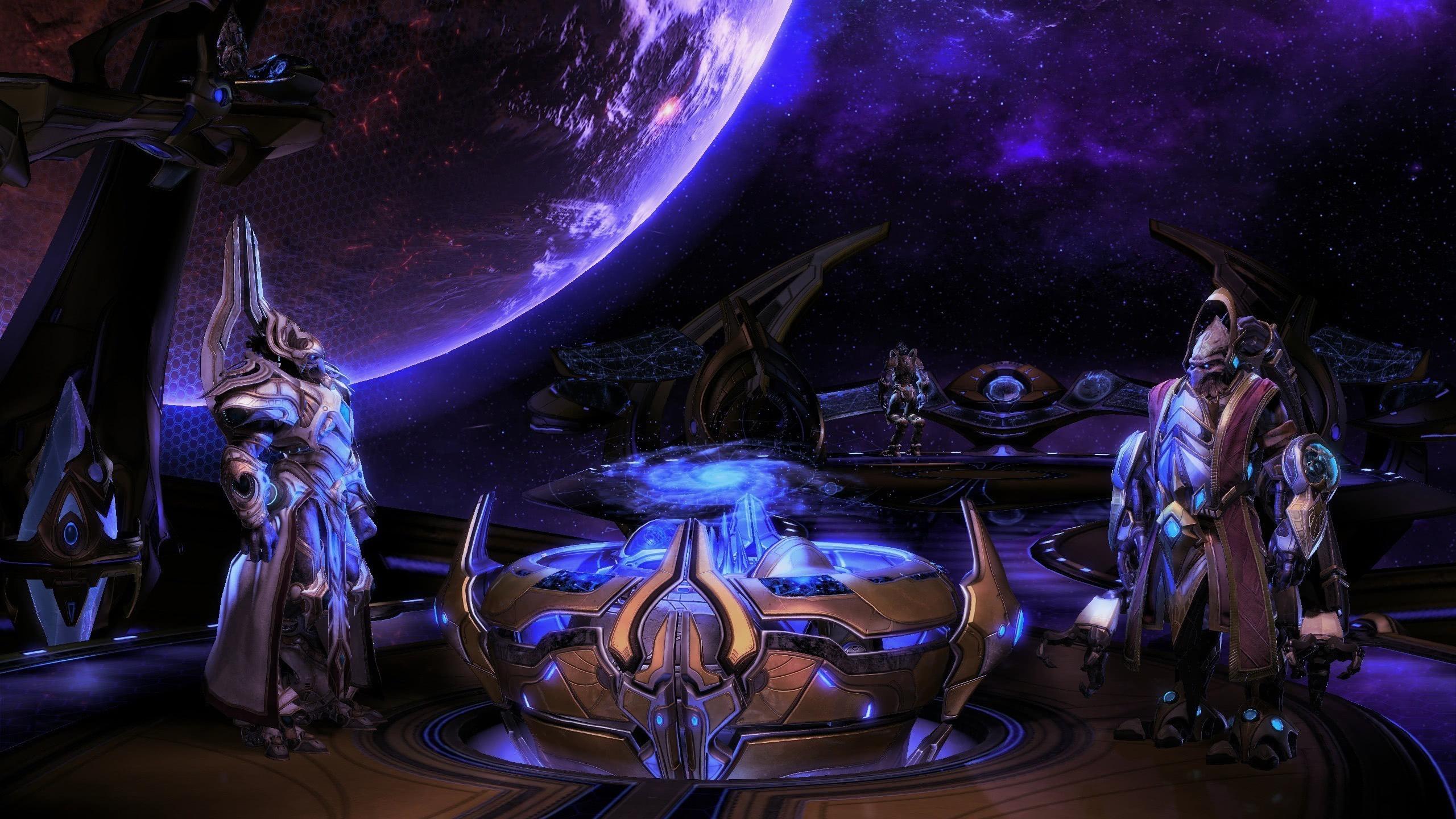 Starcraft 2 Legacy Of The Void Wqhd 1440p Wallpaper Pixelz