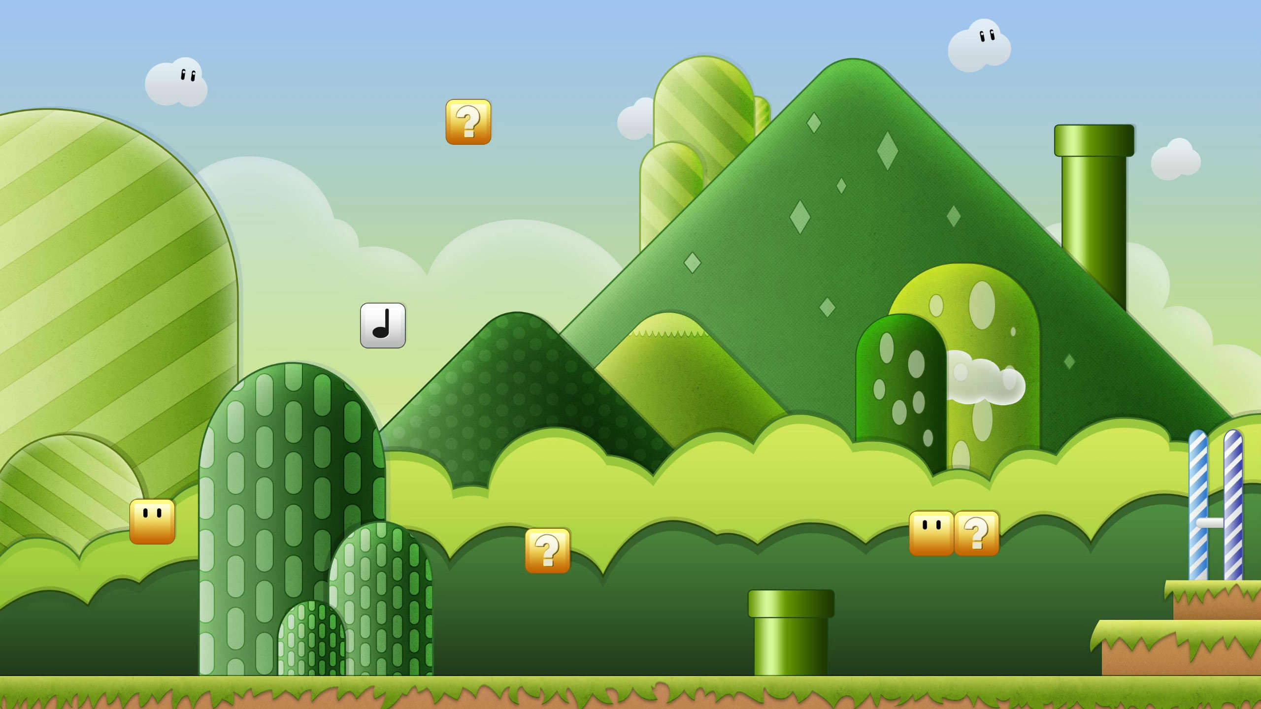 super mario bros background wqhd 1440p wallpaper
