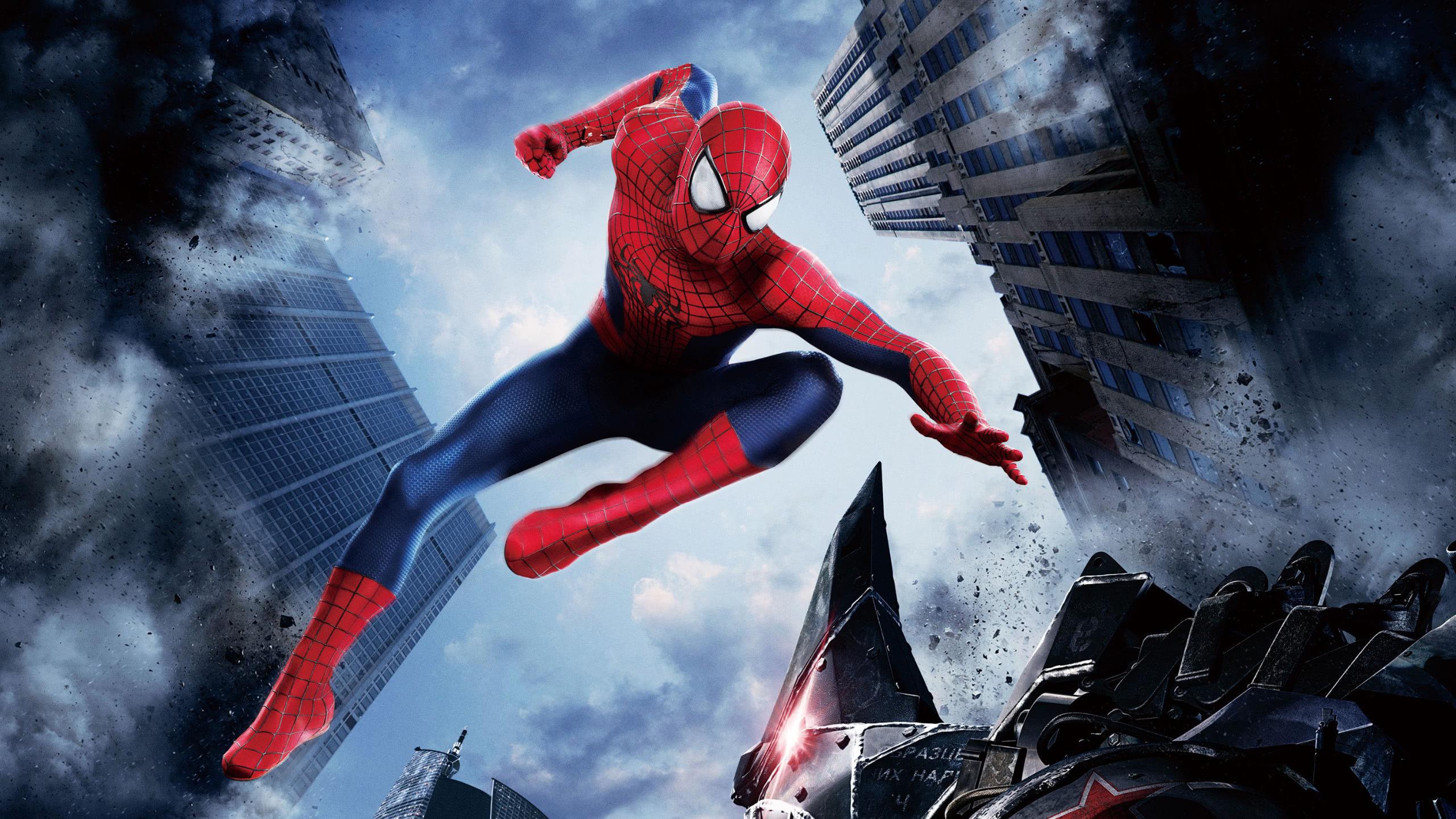 the amazing spider man wqhd 1440p wallpaper