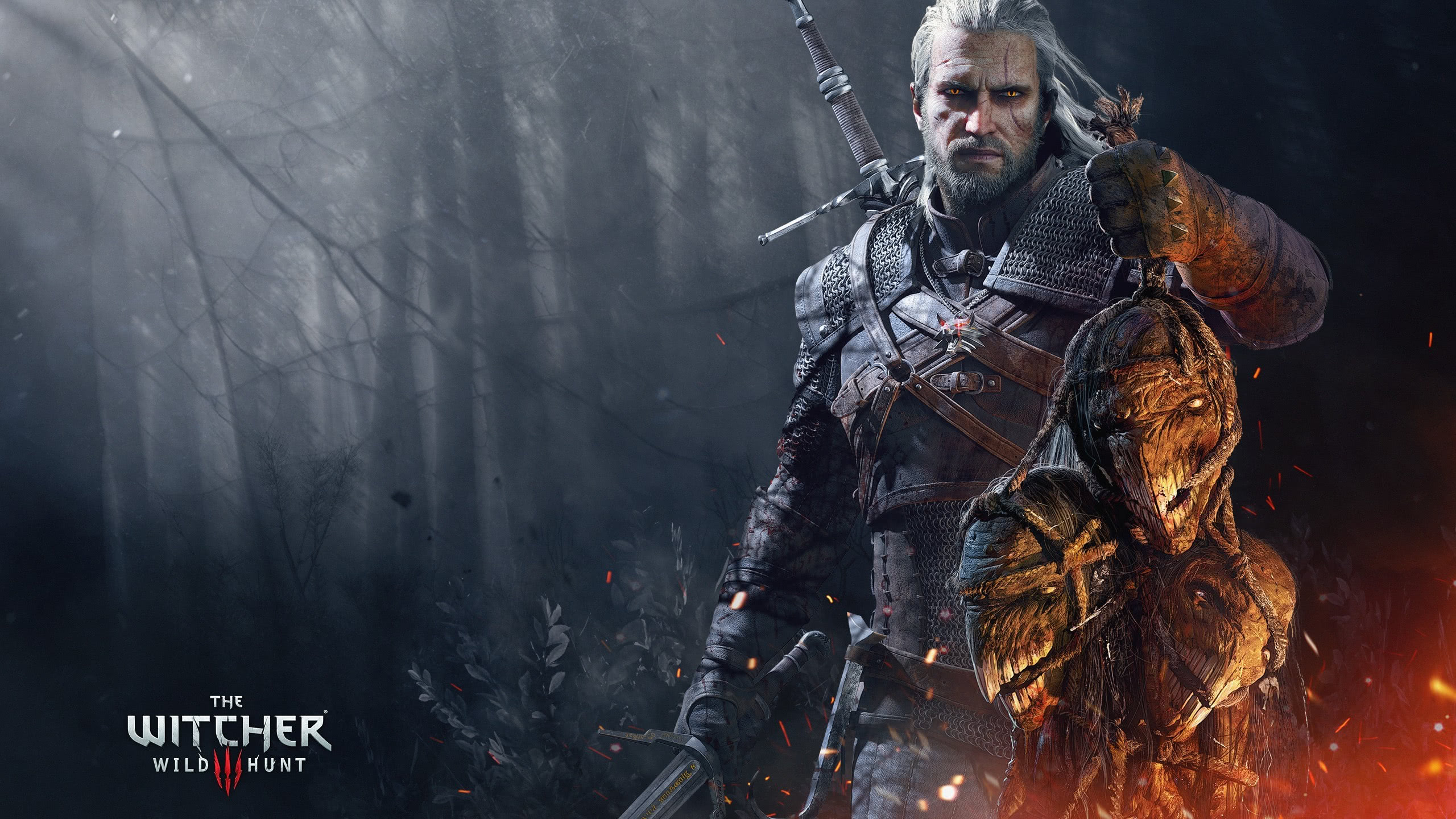 The Witcher 3 Wild Hunt Geralt Of Rivia Wqhd 1440p Wallpaper Pixelz