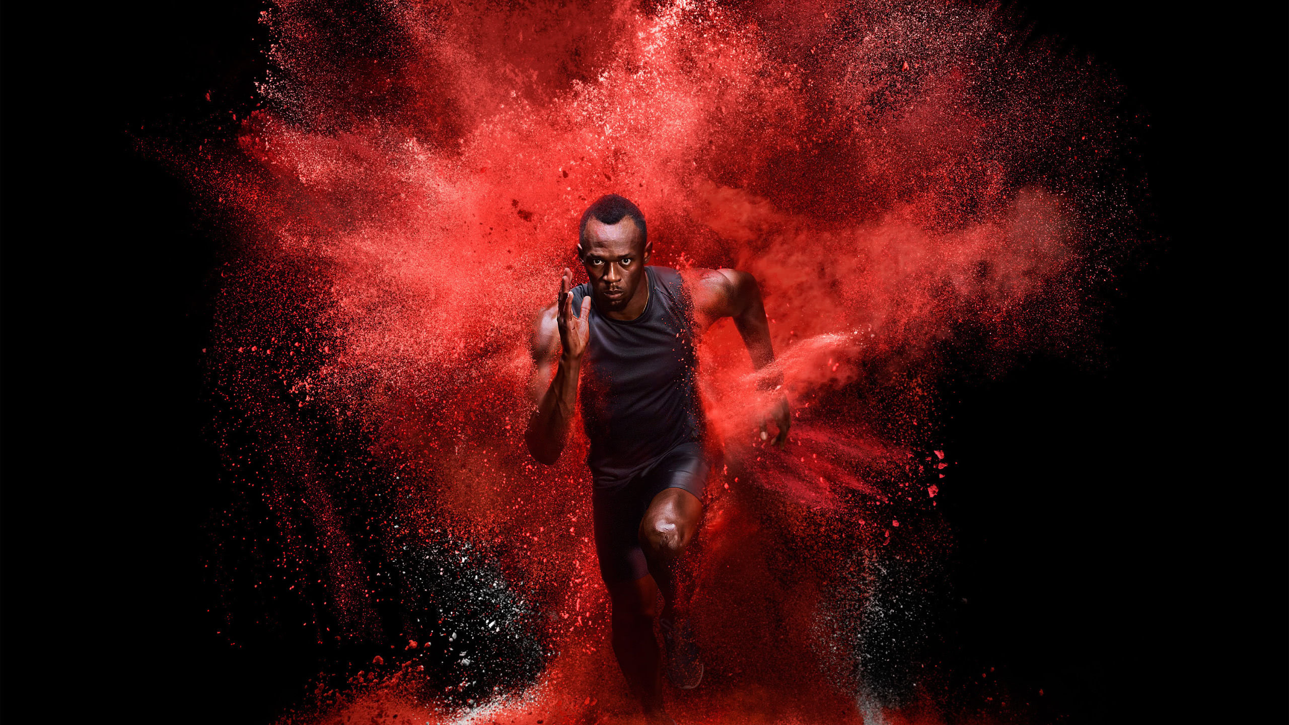 usain bolt wqhd 1440p wallpaper