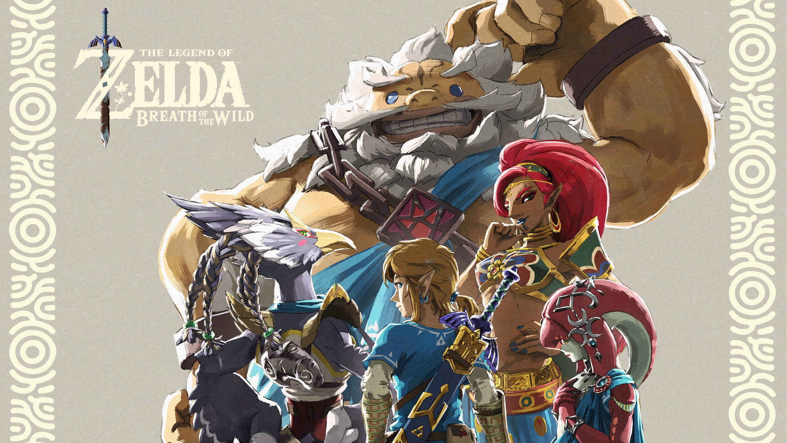 Zelda Breath Of The Wild Champions Ballad Dlc Wqhd 1440p Wallpaper