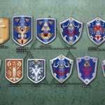 zelda minish cap shields wqhd 1440p wallpaper