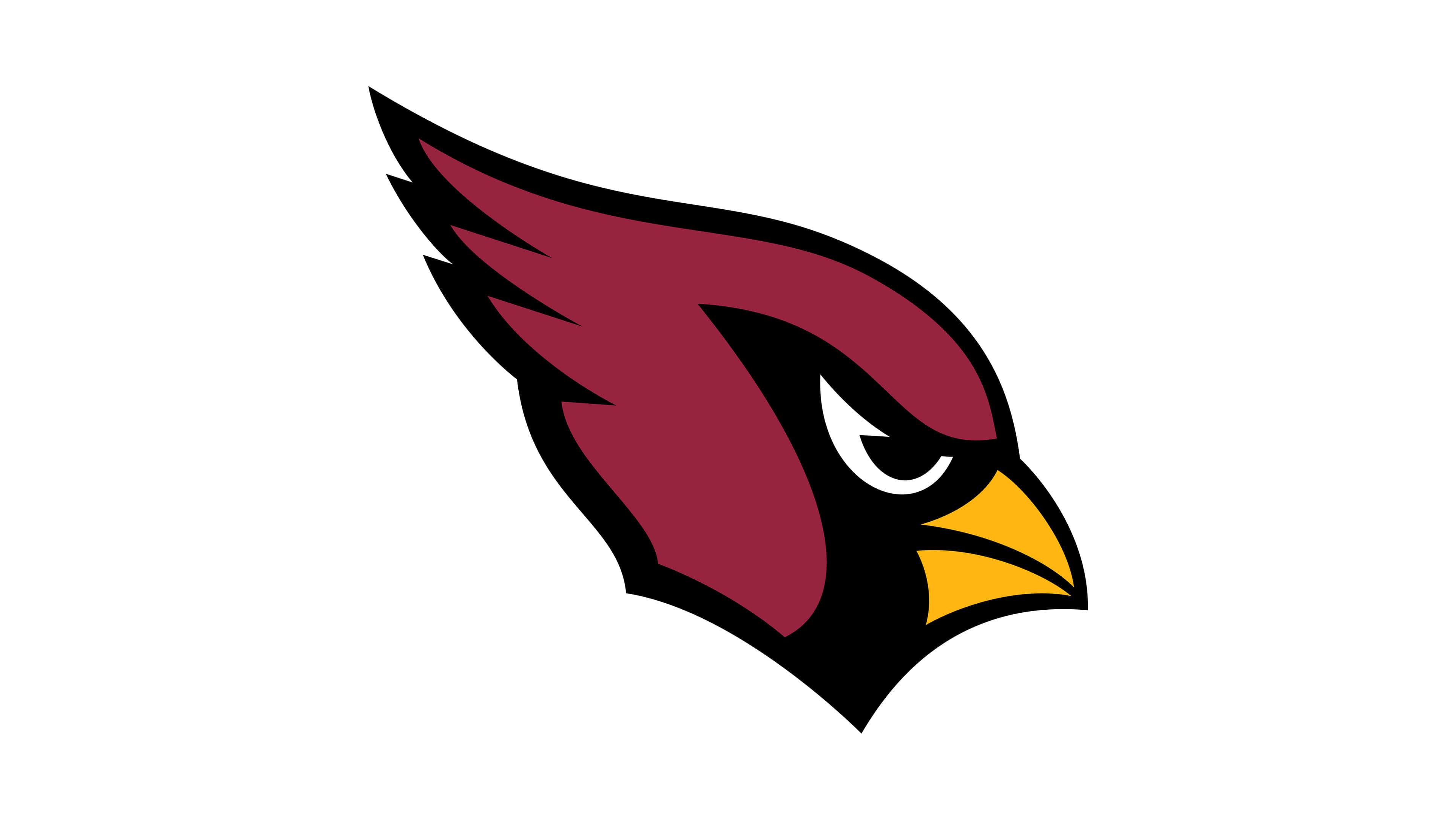 arizona cardinals nfl logo uhd 4k wallpaper
