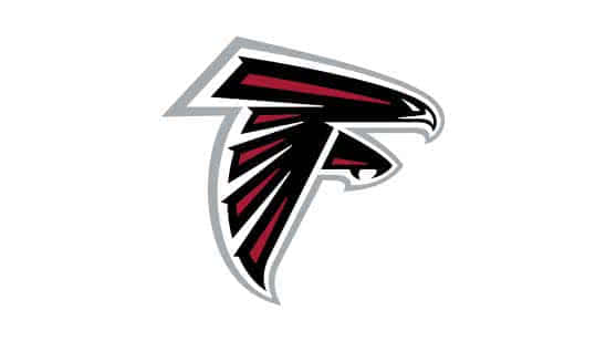 atlanta falcons nfl logo uhd 4k wallpaper