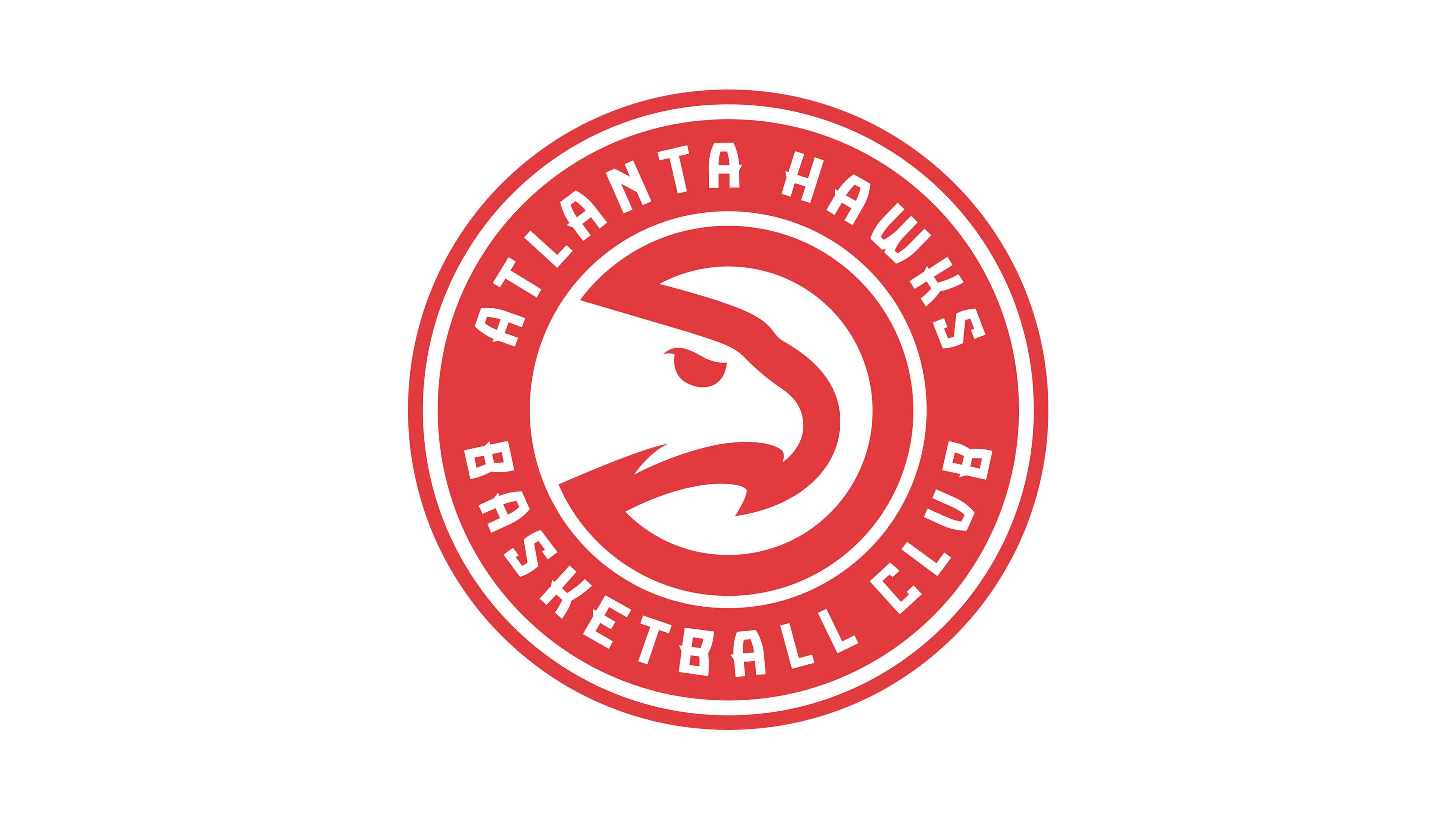 atlanta hawks nba logo uhd 4k wallpaper