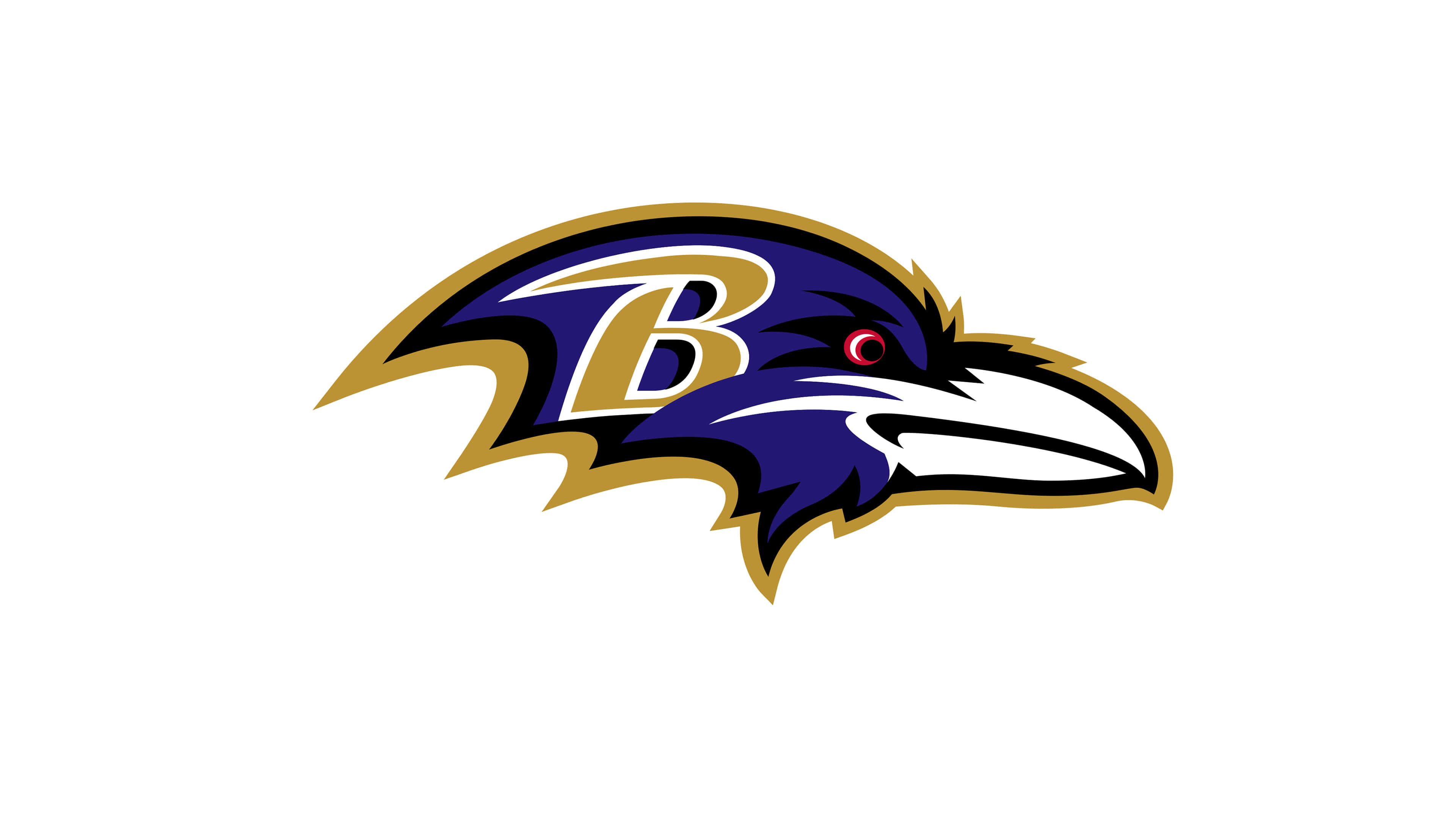 baltimore ravens nfl logo uhd 4k wallpaper