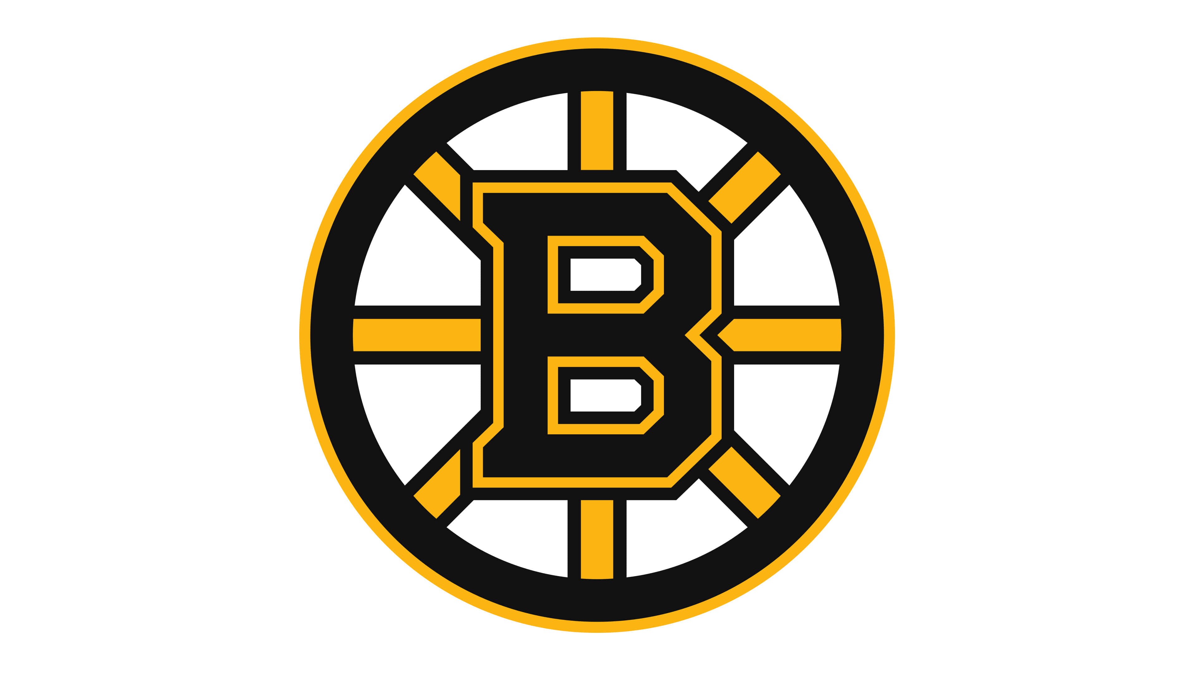 boston bruins nhl logo uhd 4k wallpaper