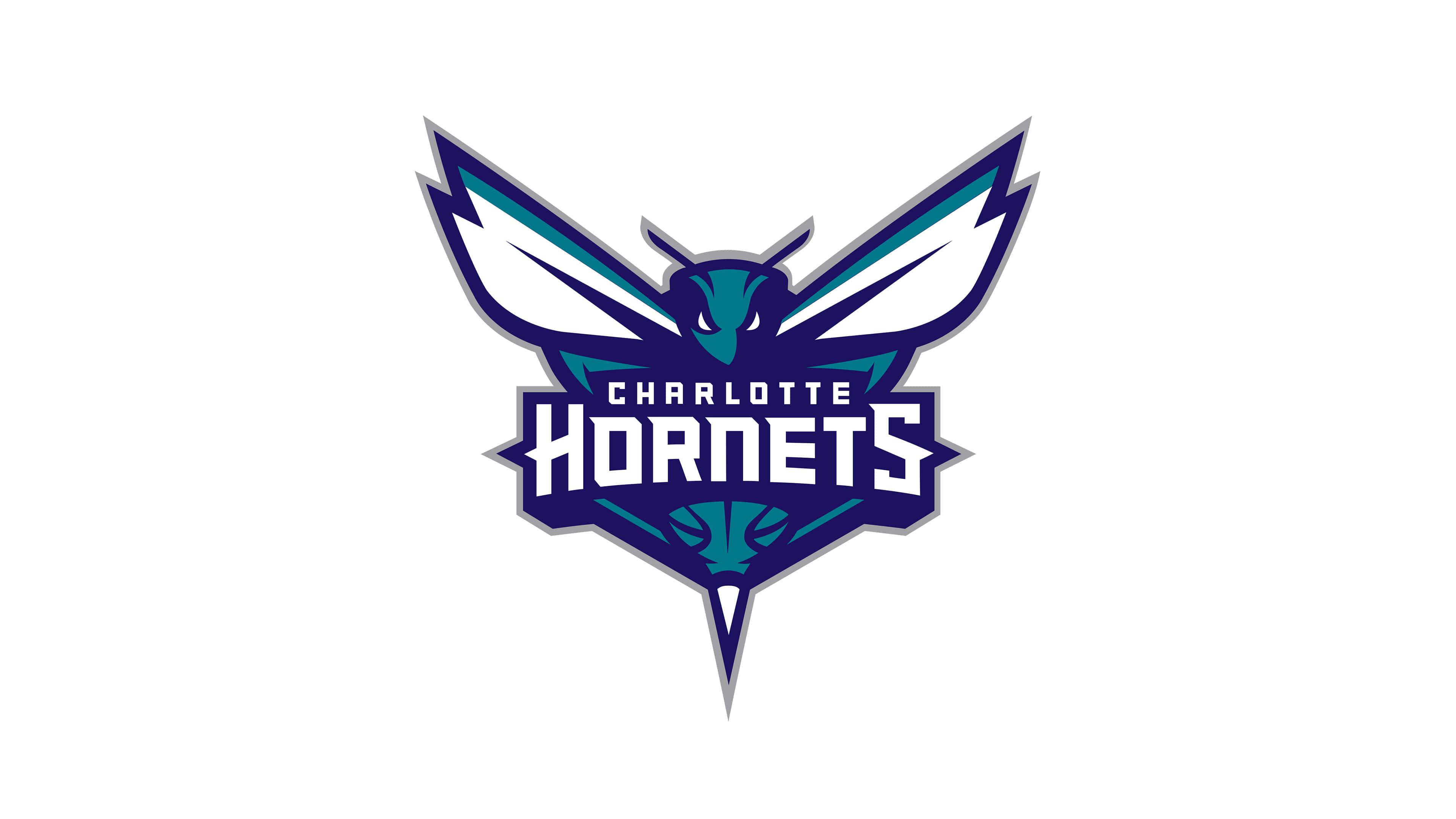 charlotte hornets nba logo uhd 4k wallpaper