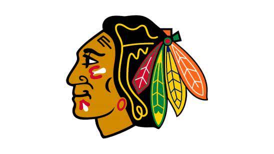 chicago blackhawks nhl logo uhd 4k wallpaper