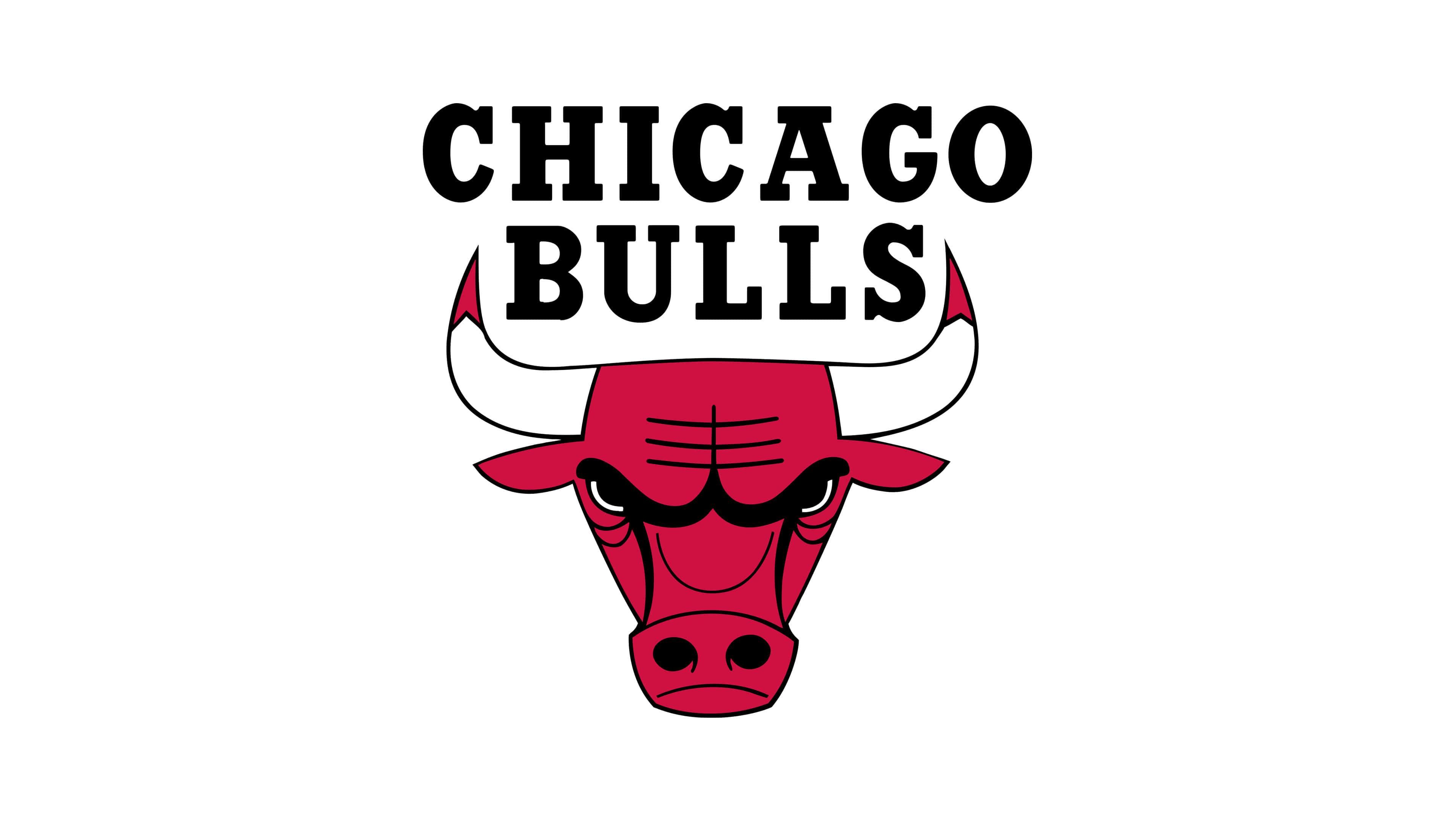 chicago bulls nba logo uhd 4k wallpaper