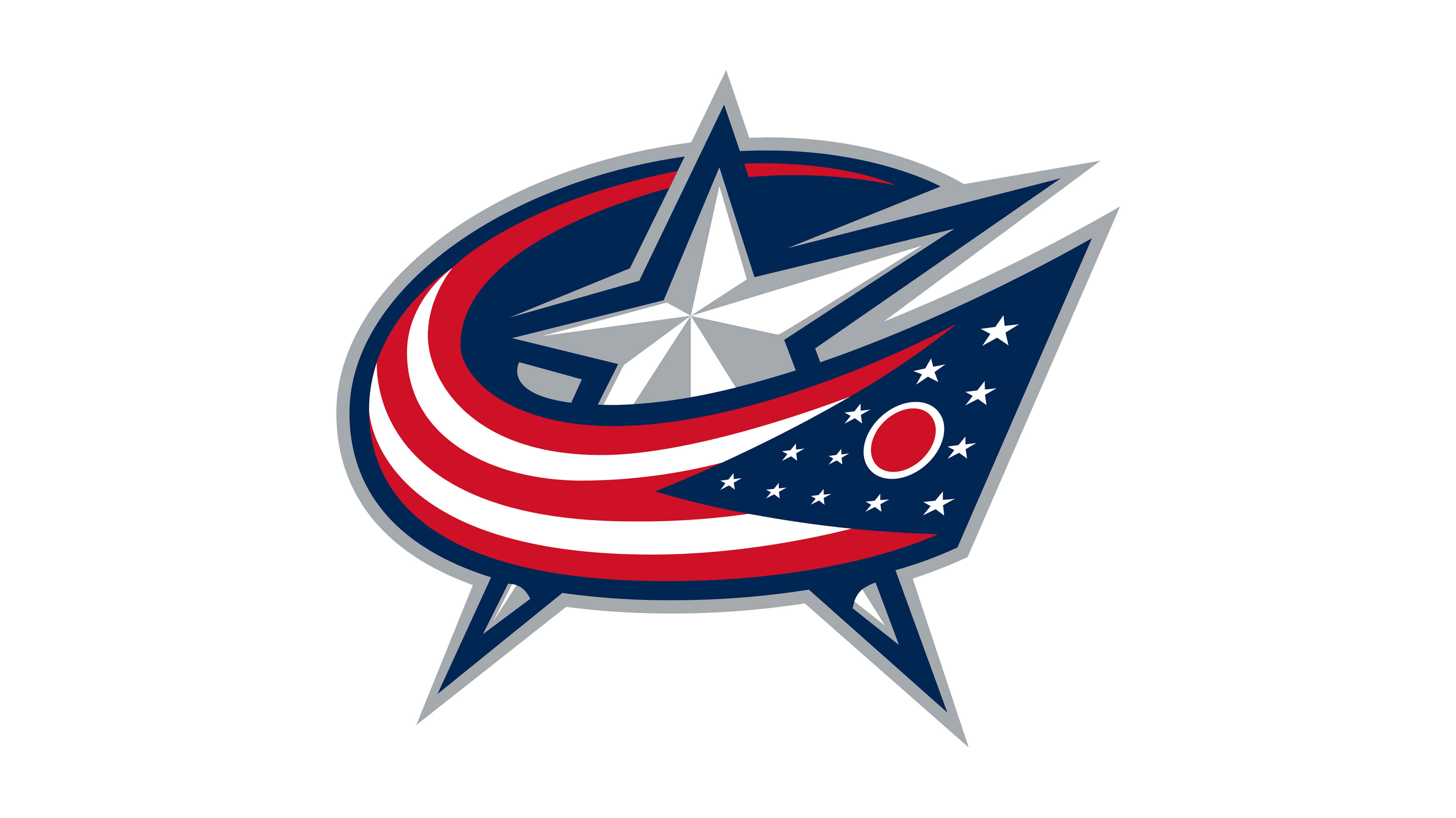 columbus blue jackets nhl ogo uhd 4k wallpaper