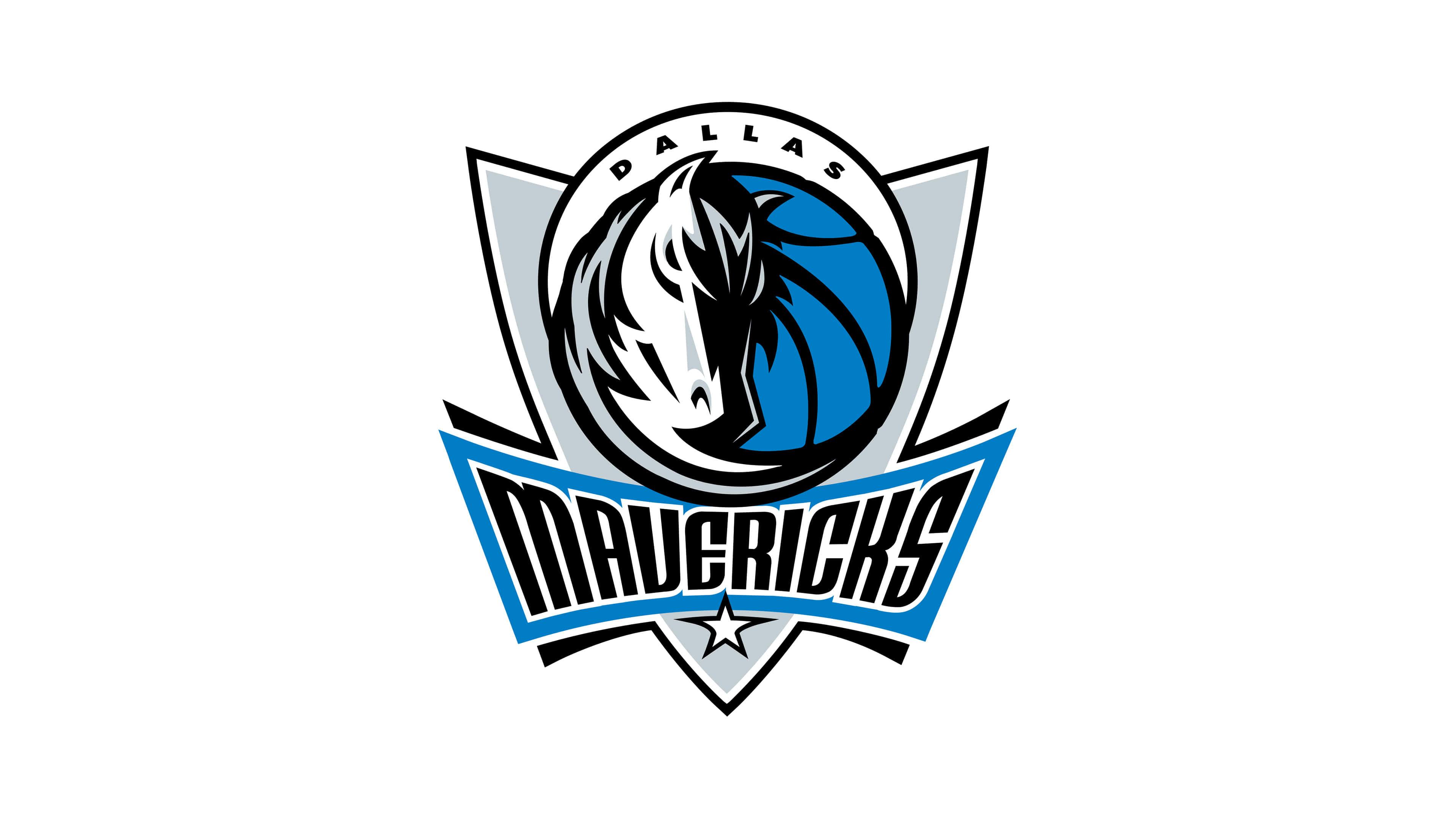dallas mavericks nba logo uhd 4k wallpaper