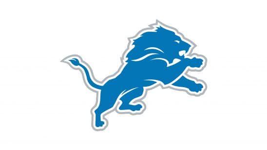 detroit lions nfl logo uhd 4k wallpaper