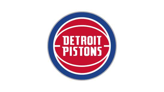 detroit pistons nba logo uhd 4k wallpaper