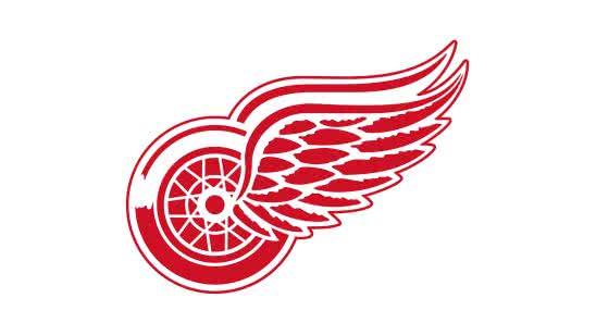 detroit red wings nhl logo uhd 4k wallpaper