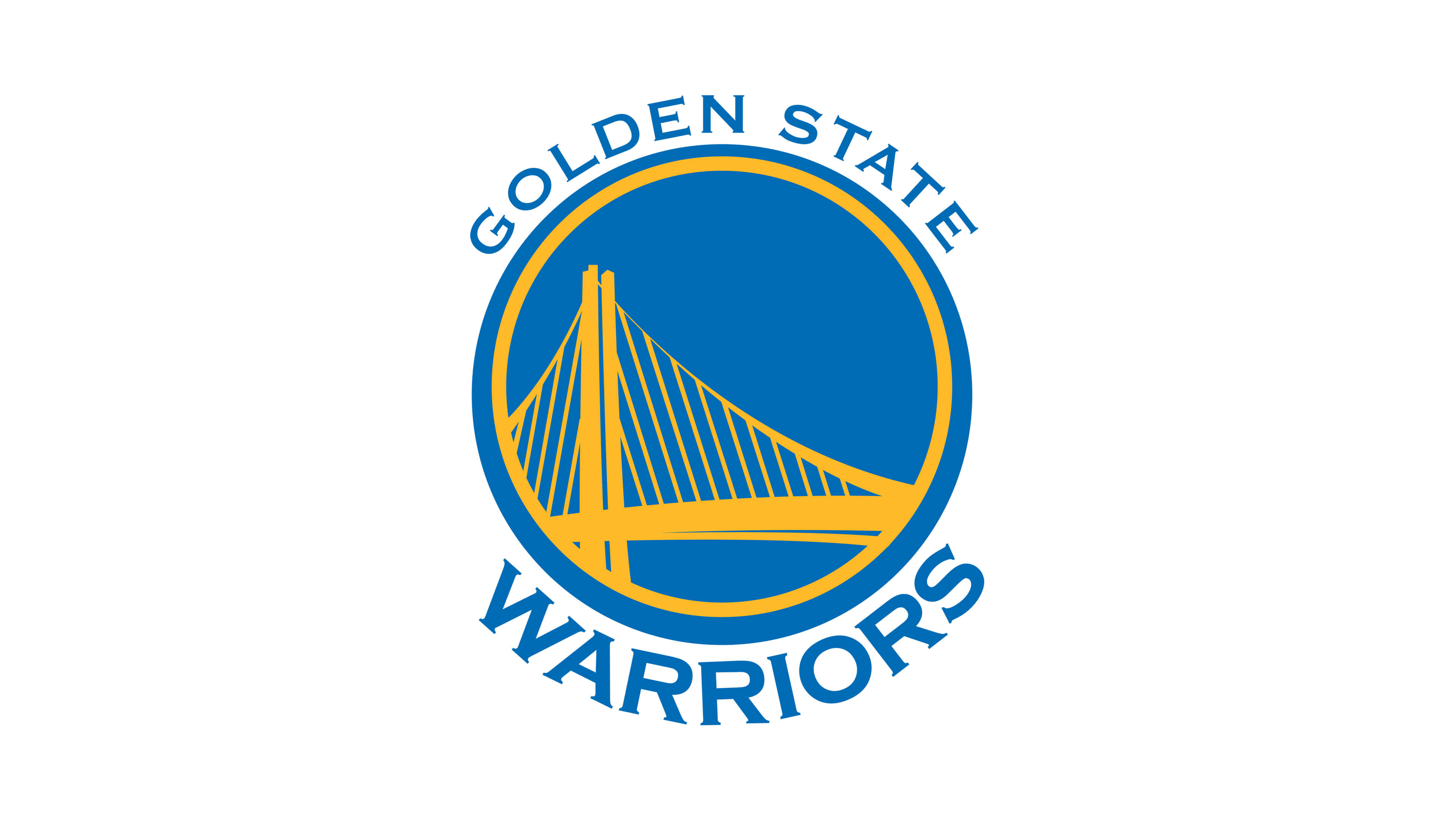 golden state warriors nba logo uhd 4k wallpaper