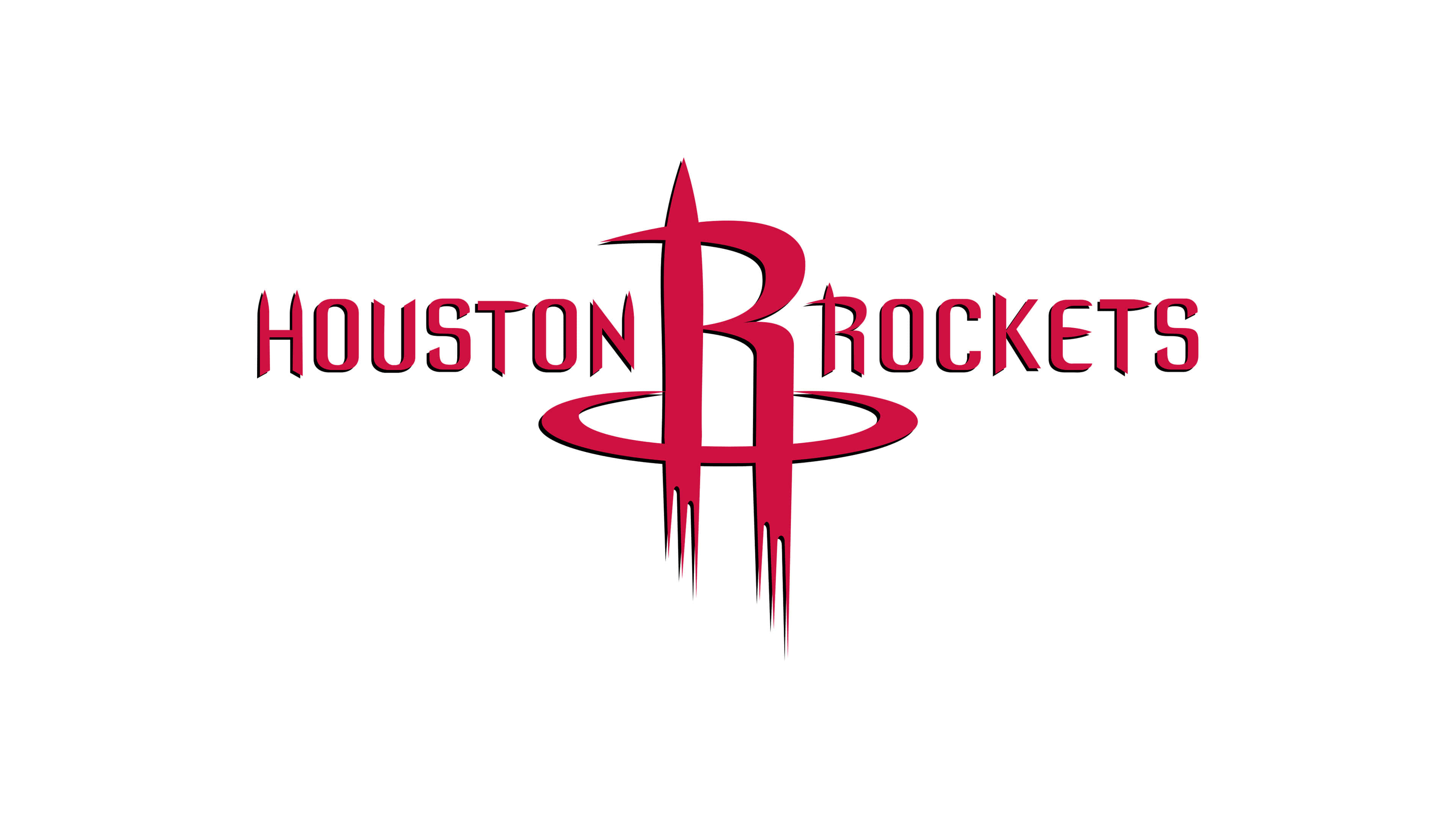 houston rockets nba logo uhd 4k wallpaper