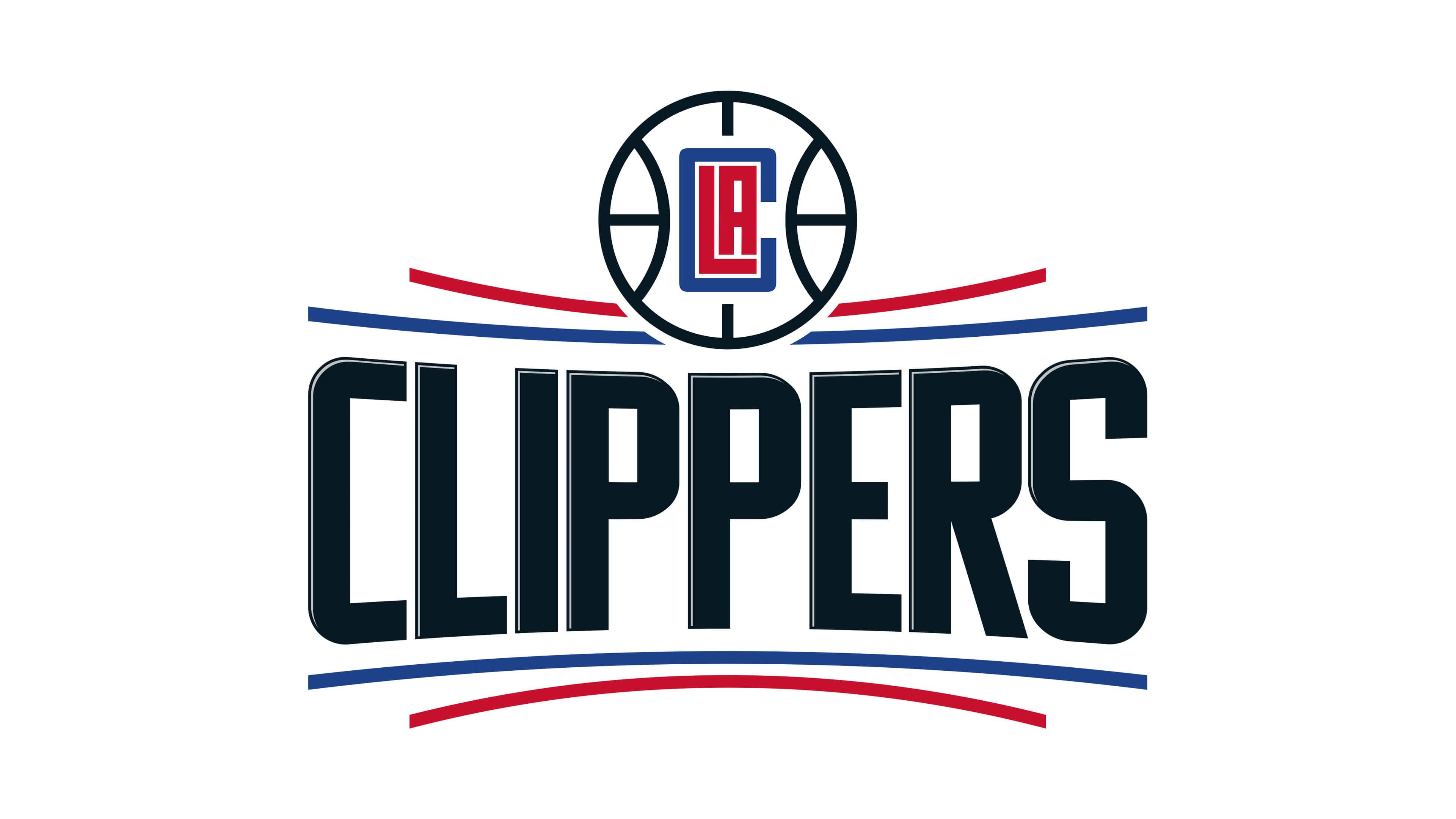 los angeles clippers nba logo uhd 4k wallpaper