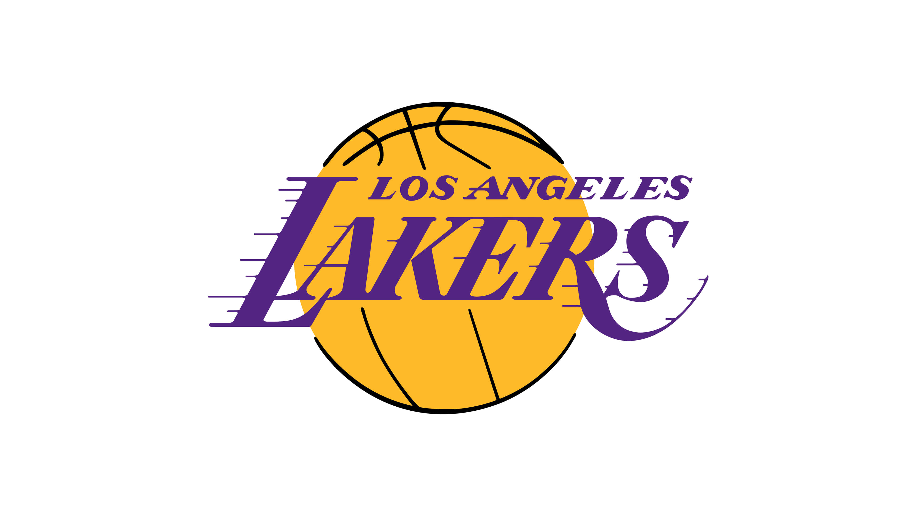 los angeles lakers nba logo uhd 4k wallpaper