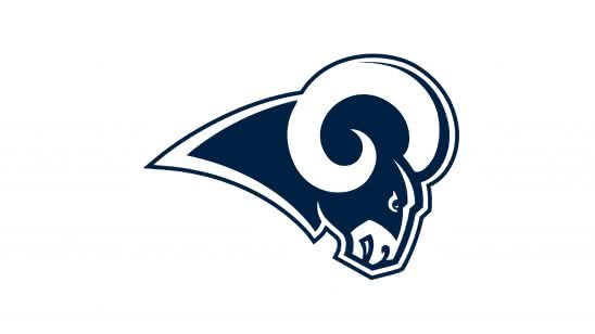 los angeles rams nfl logo uhd 4k wallpaper