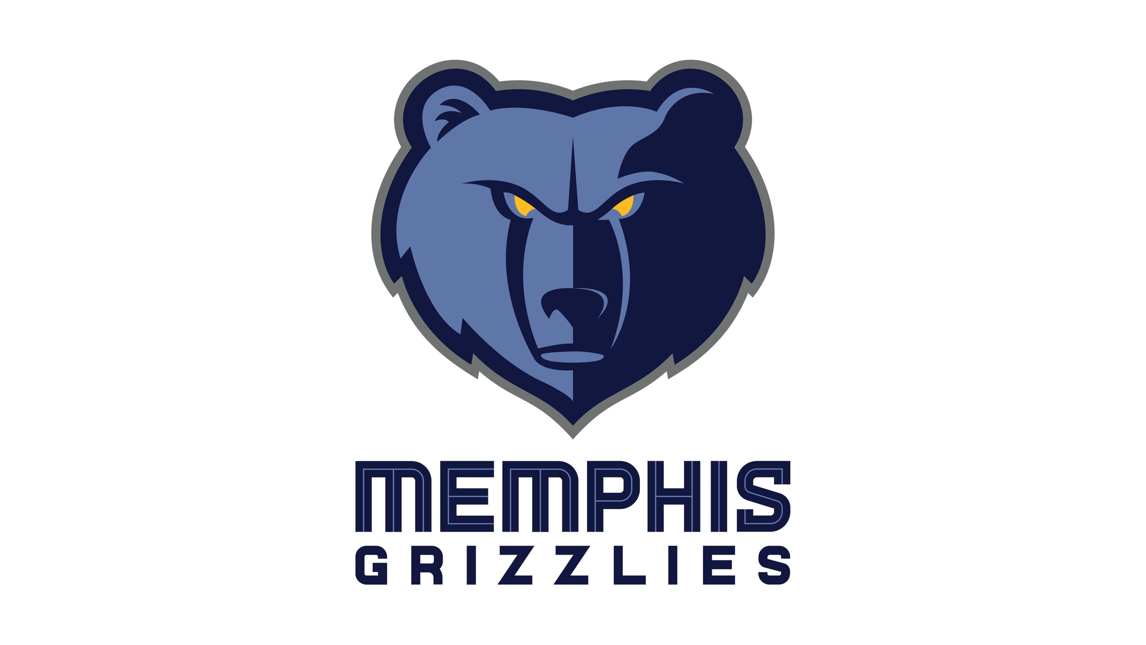 memphis grizzlies nba logo uhd 4k wallpaper