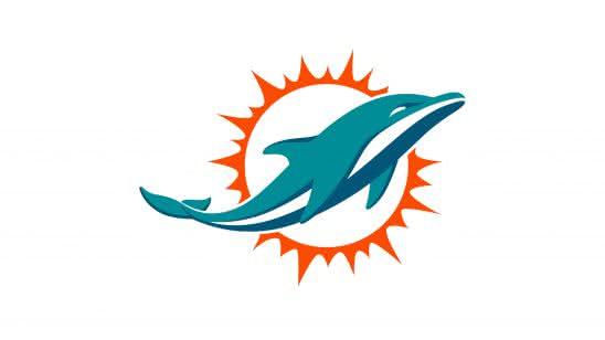 miami dolphins nfl logo uhd 4k wallpaper