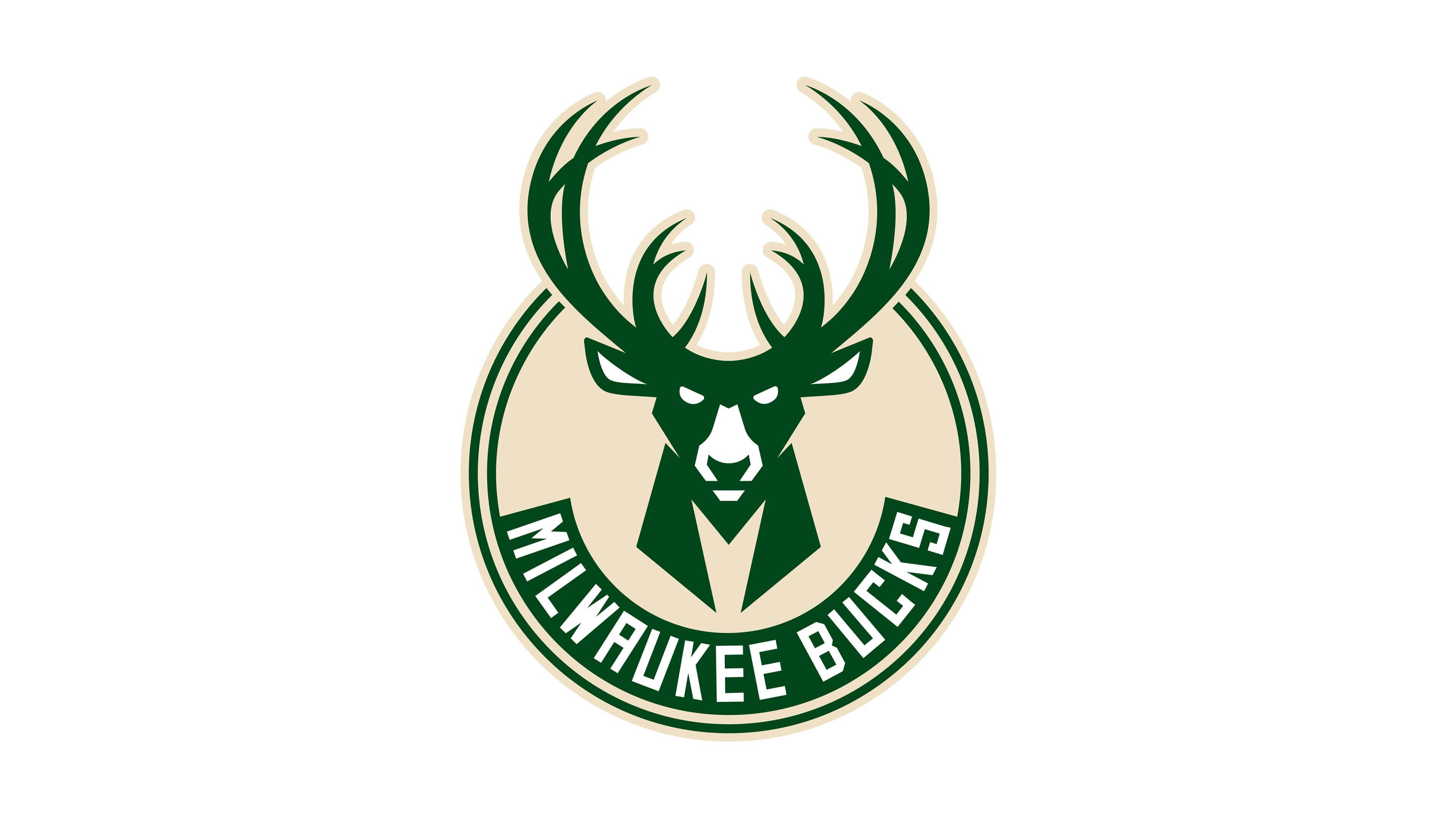 Milwaukee Bucks Nba Logo Uhd 4k Wallpaper Pixelz