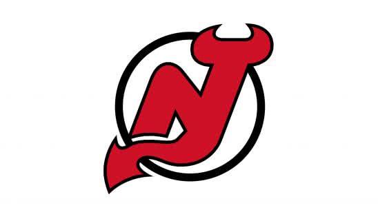 new jersey devils nhl logo uhd 4k wallpaper