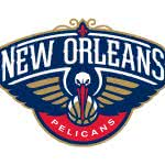 new orleans pelicans nba logo uhd 4k wallpaper