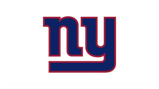 new york giants nfl logo uhd 4k wallpaper