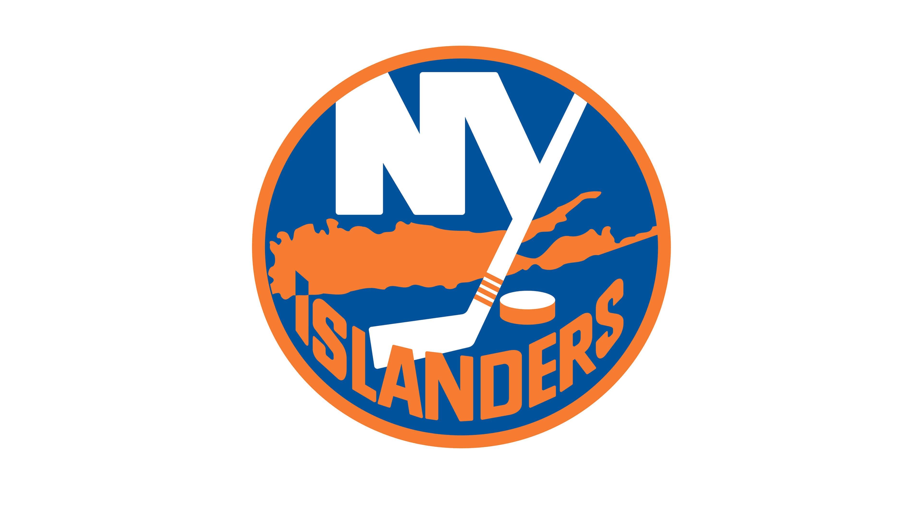 new york islanders nhl logo uhd 4k wallpaper