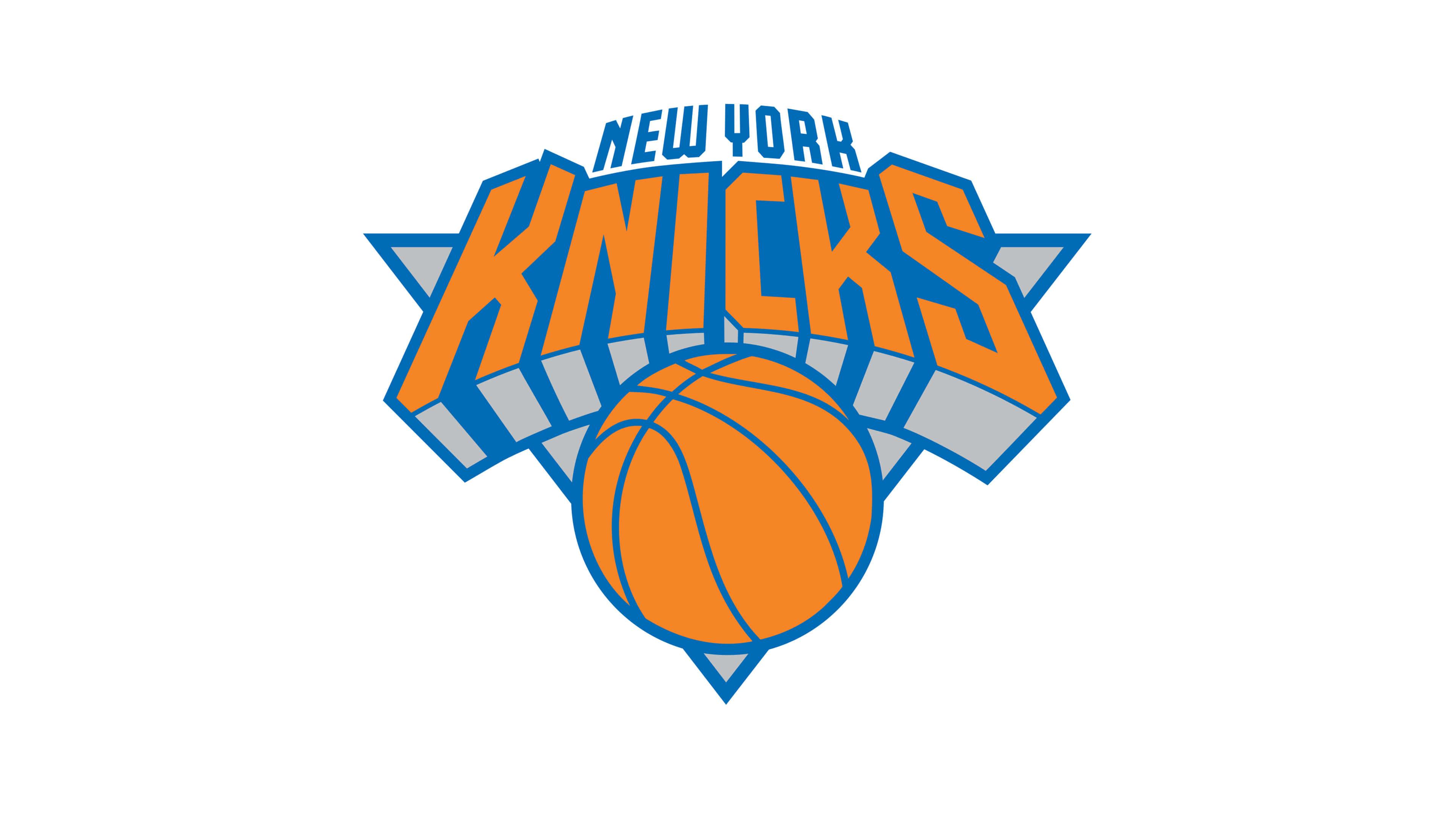 new york knicks nba logo uhd 4k wallpaper