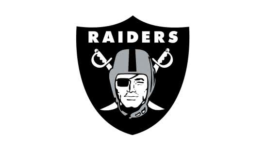 oakland raiders nfl logo uhd 4k wallpaper