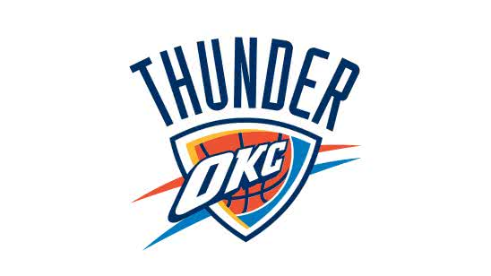 oklahoma city thunder nba logo uhd 4k wallpaper