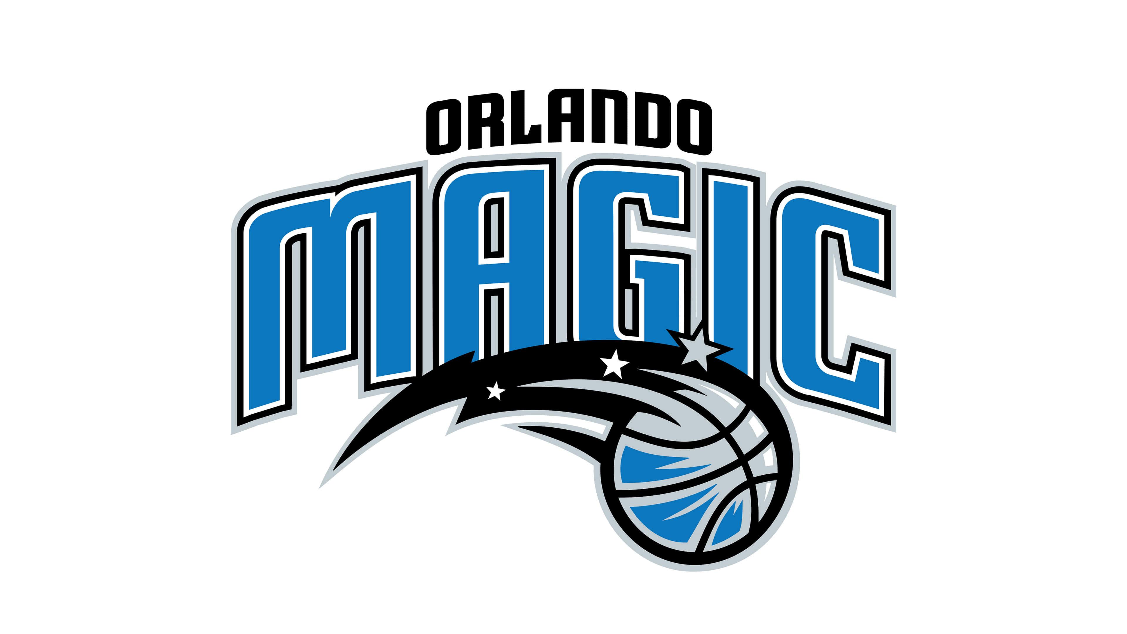 orlando magic nba logo uhd 4k wallpaper
