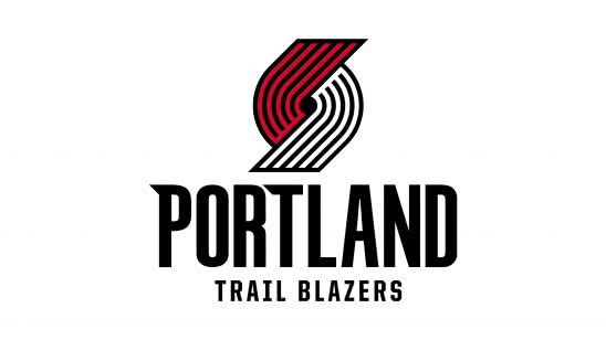 portland trail blazers nba logo uhd 4k wallpaper