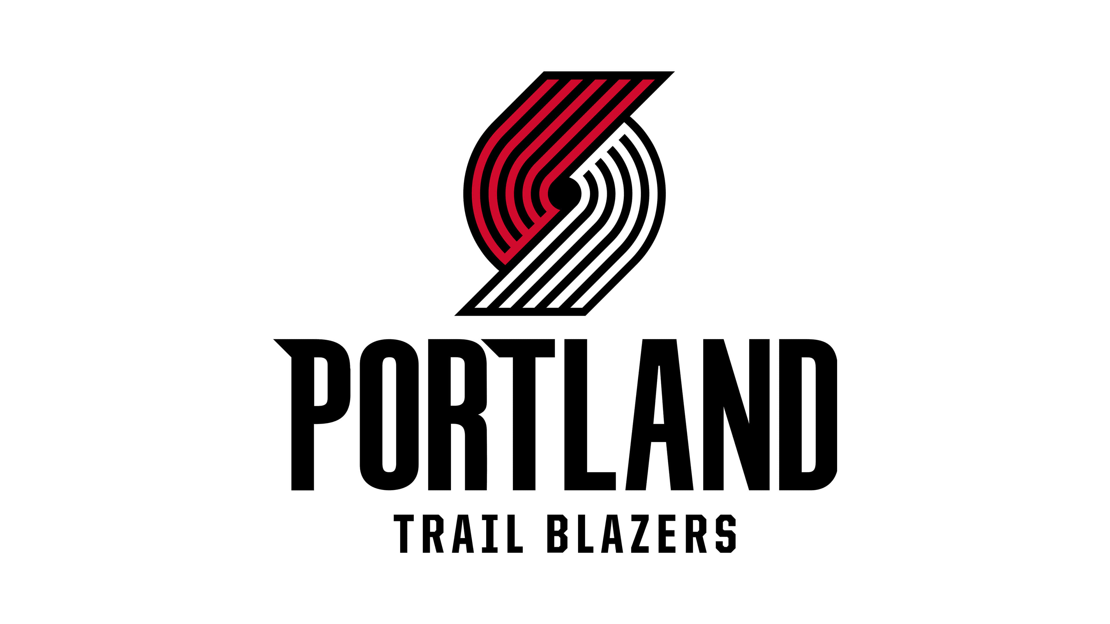 portland trail blazers nba logo uhd 4k wallpaper