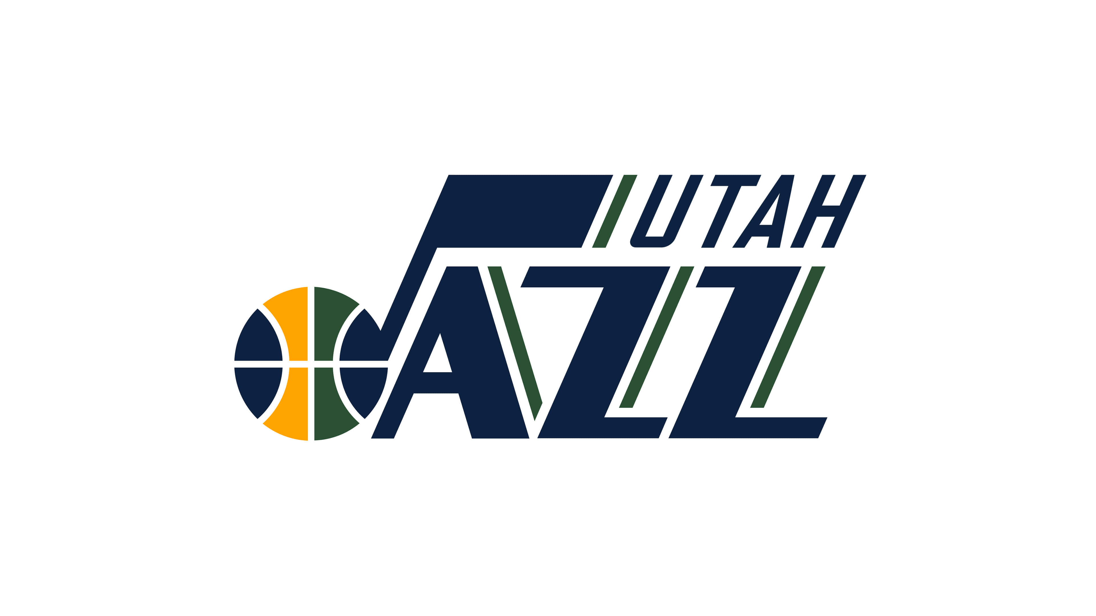 utah jazz nba logo uhd 4k wallpaper