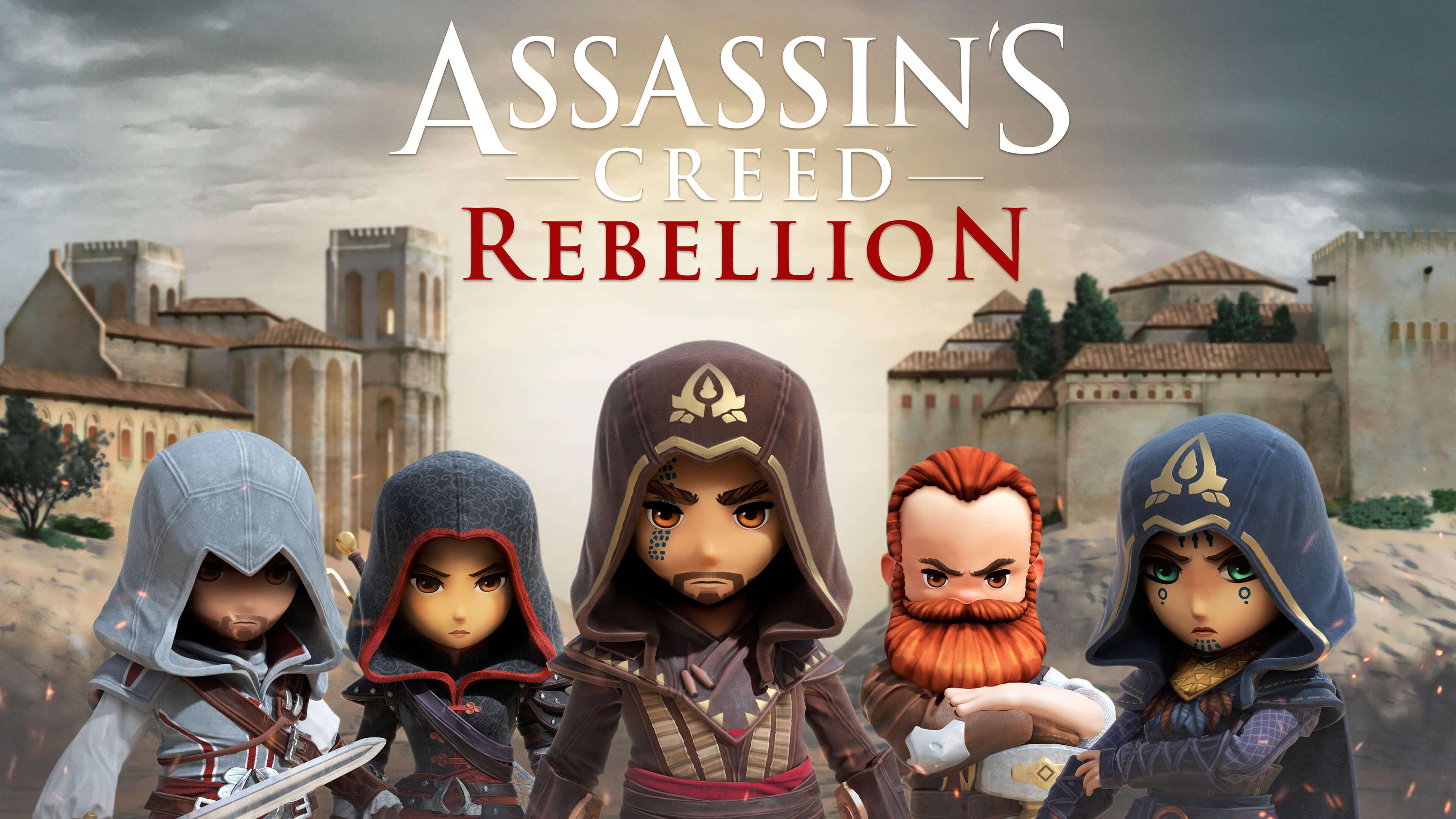 assassins creed rebellion uhd 4k wallpaper