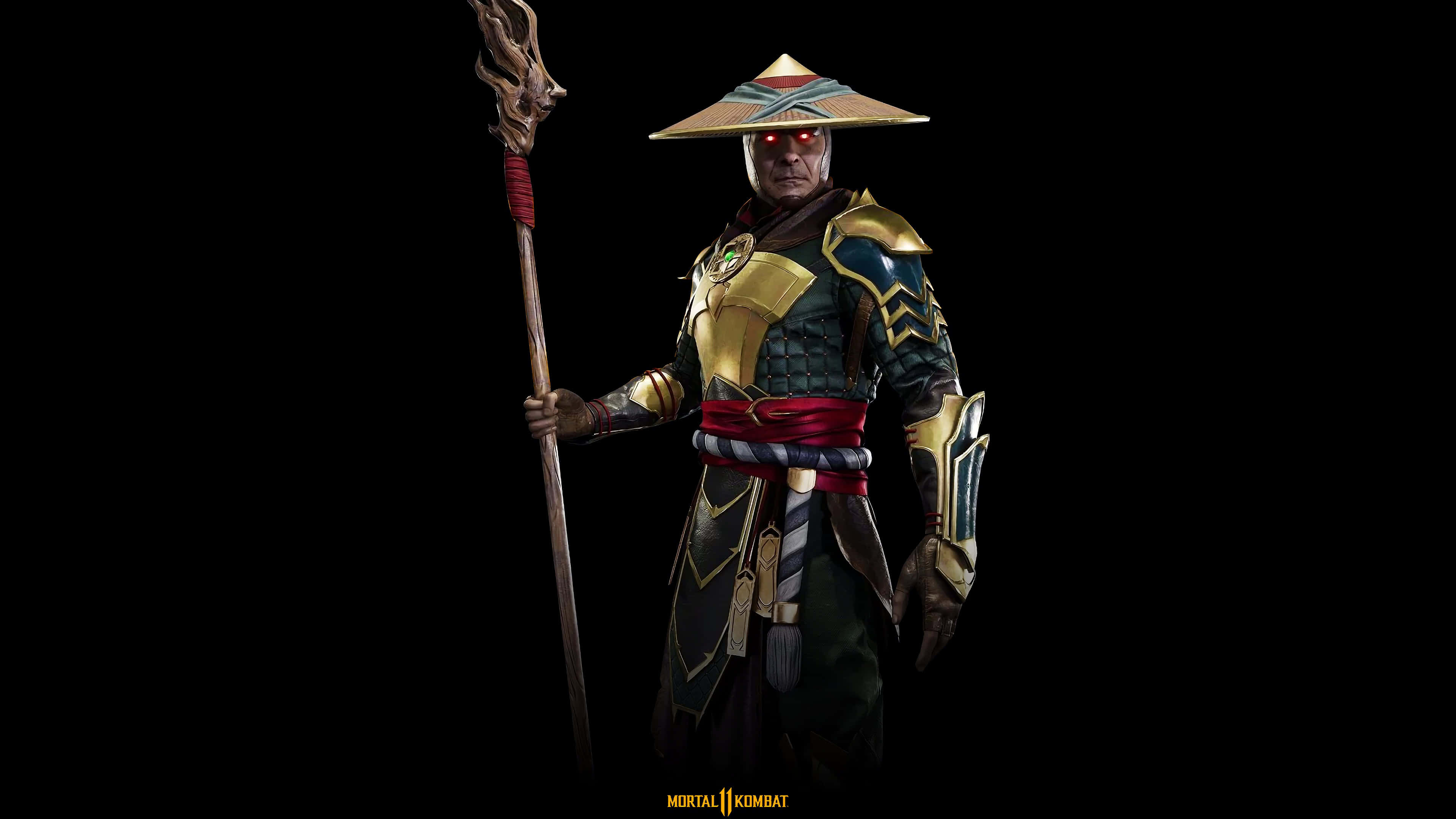 mortal kombat 11 raiden uhd 4k wallpaper