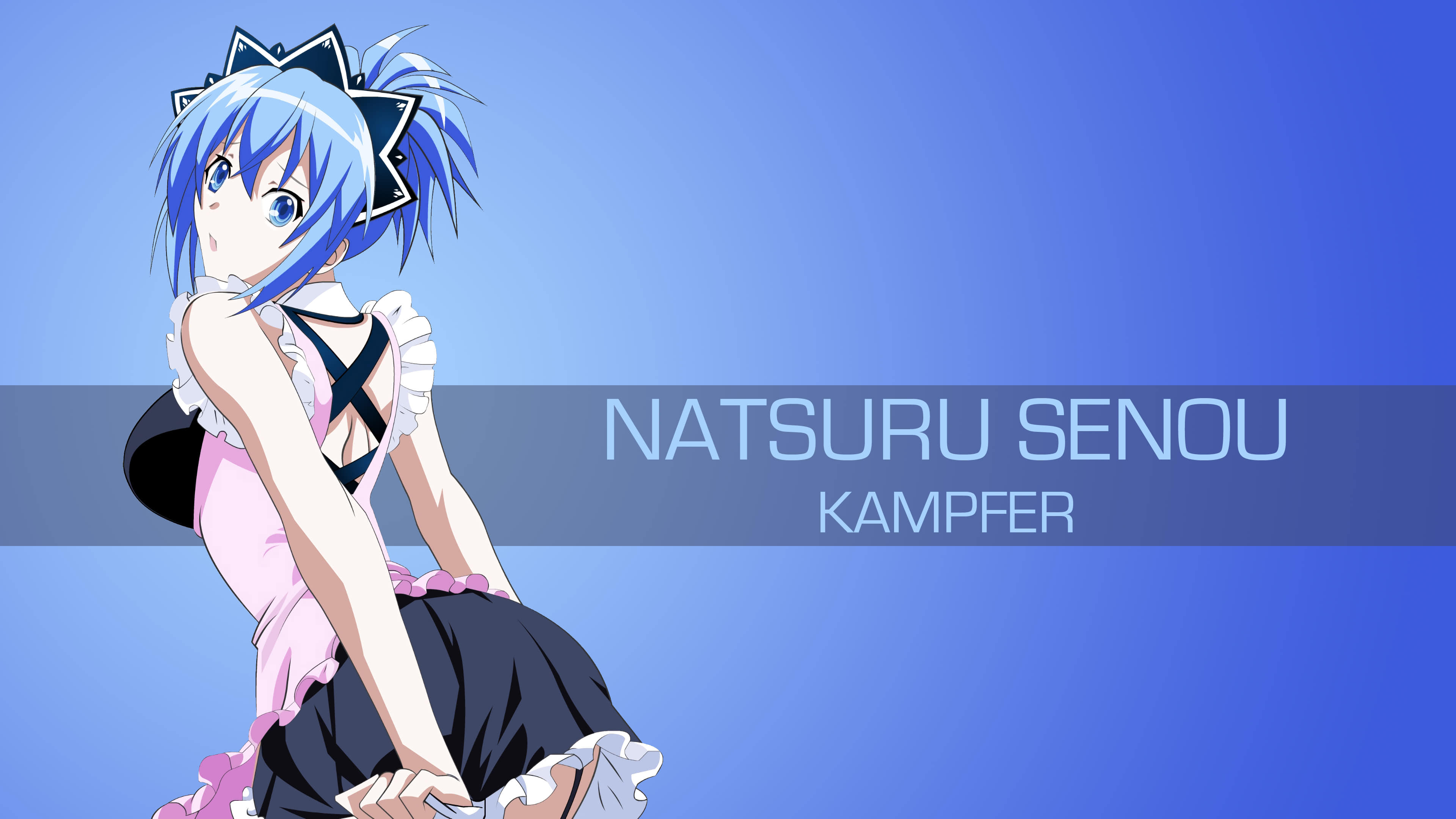natsuru seno kampfer uhd 4k wallpaper