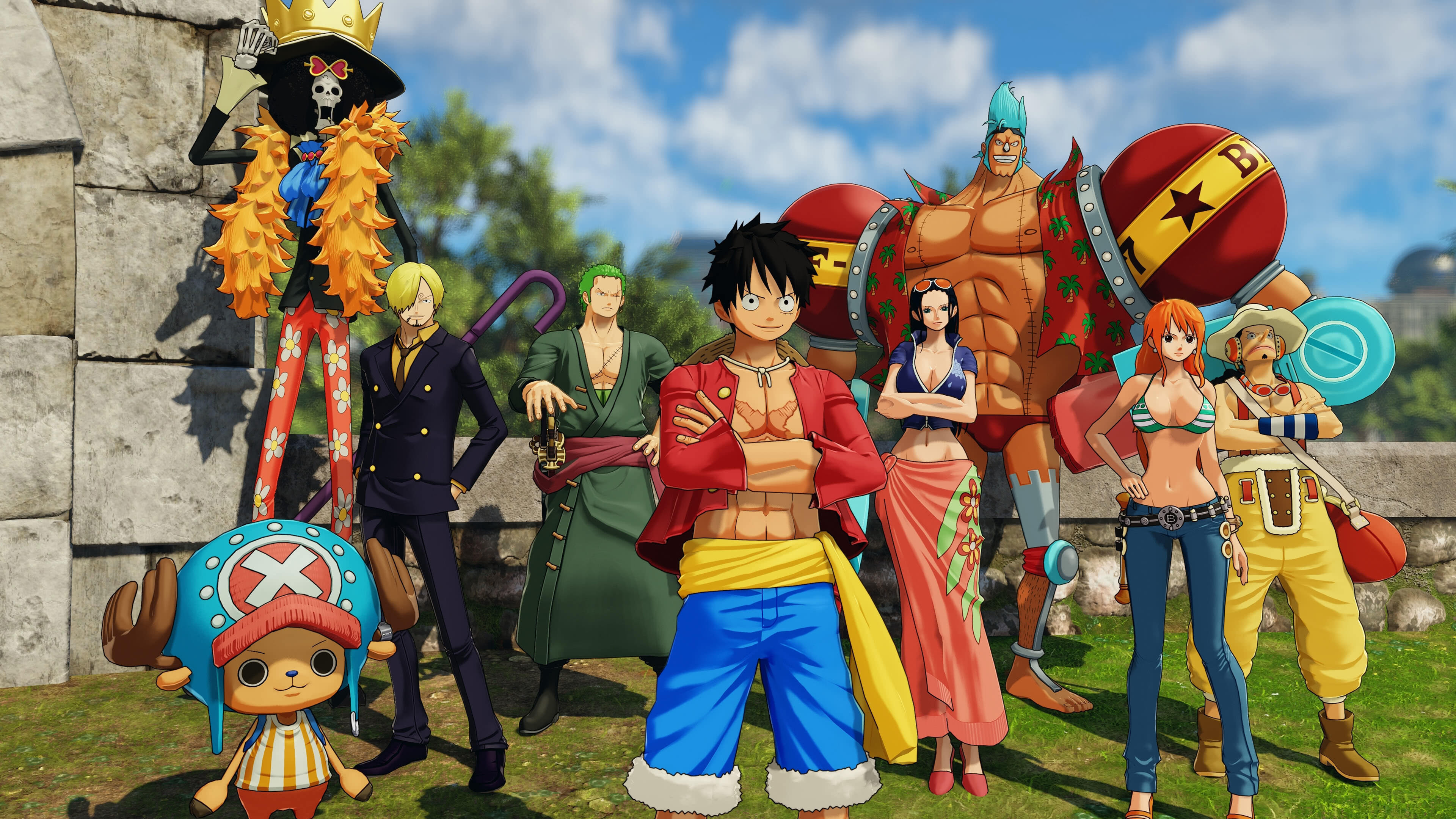 one piece world seeker characters uhd 4k wallpaper