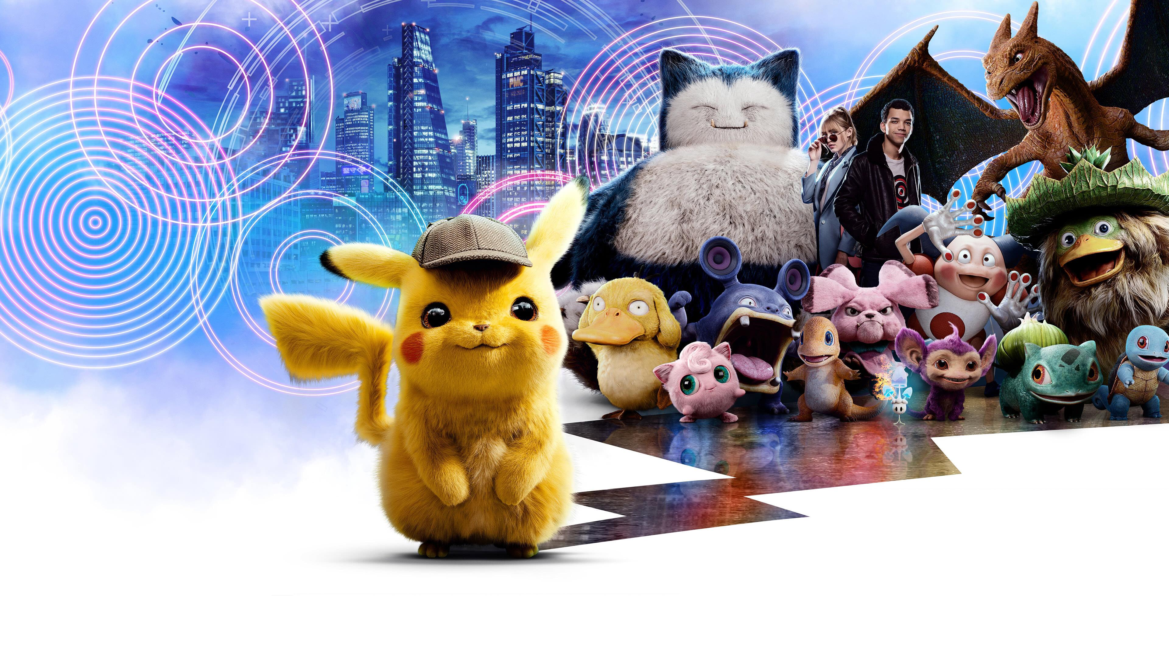 pokemon detective pikachu uhd 4k wallpaper