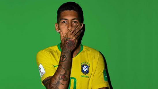 roberto firmino portrait soccer uhd 4k wallpaper