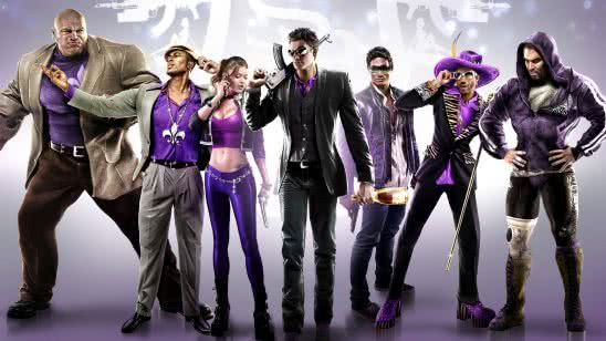 saints row the third characters uhd 4k wallpaper