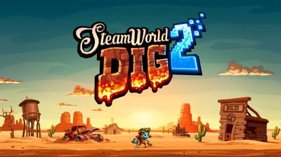steamworld dig 2 uhd 4k wallpaper